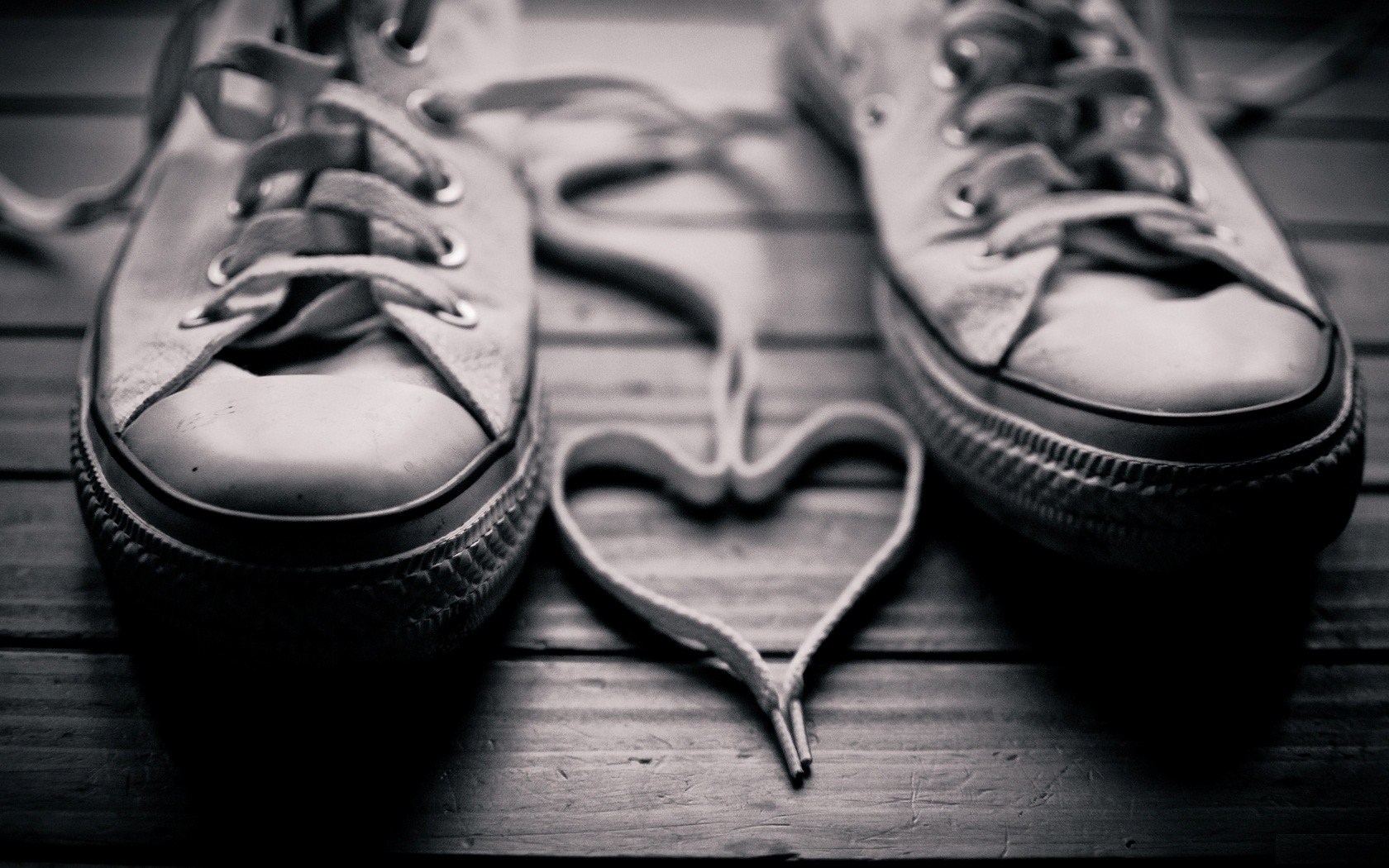 Photo Shoes Laces Heart Awesome HD Wallpaper