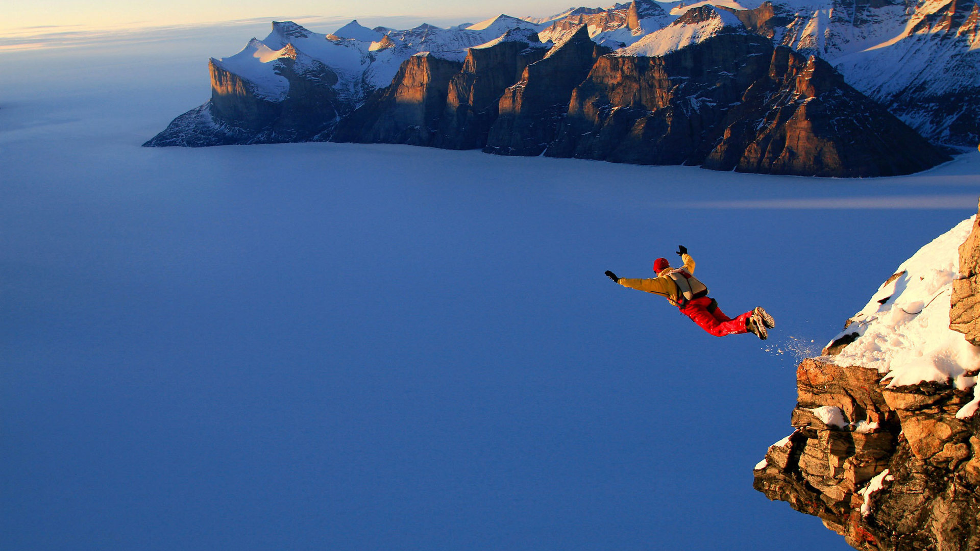 Awesome Skydive Wallpaper