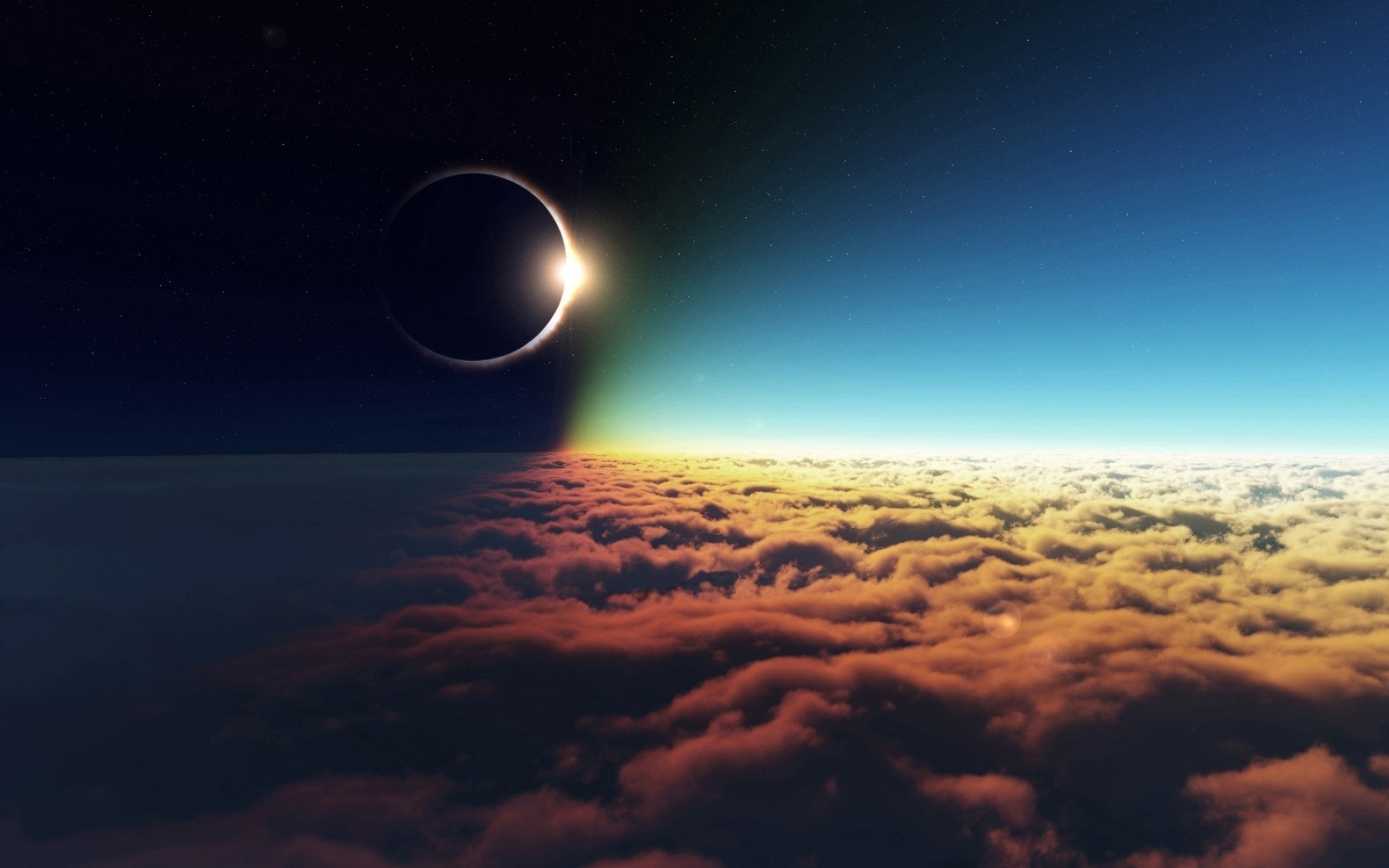 Awesome Solar Eclipse Wallpaper