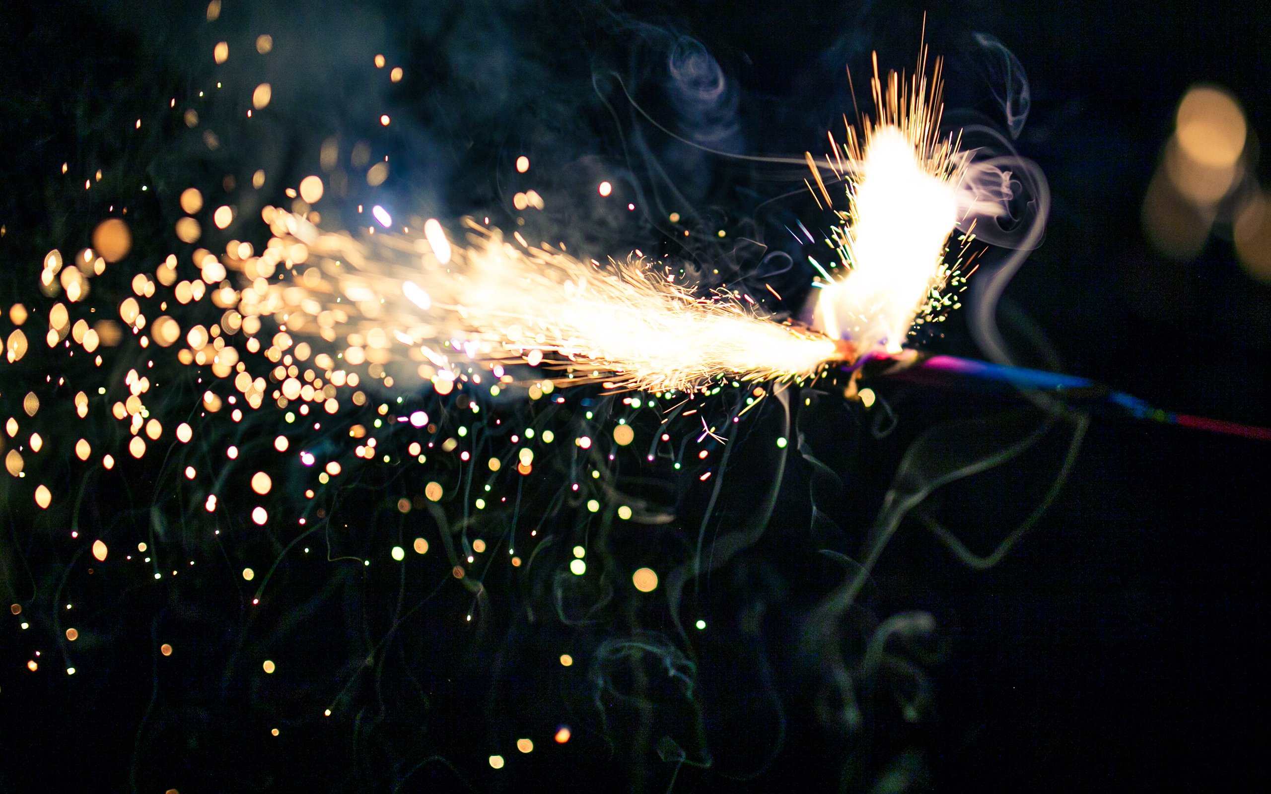 Awesome Sparkler Wallpaper