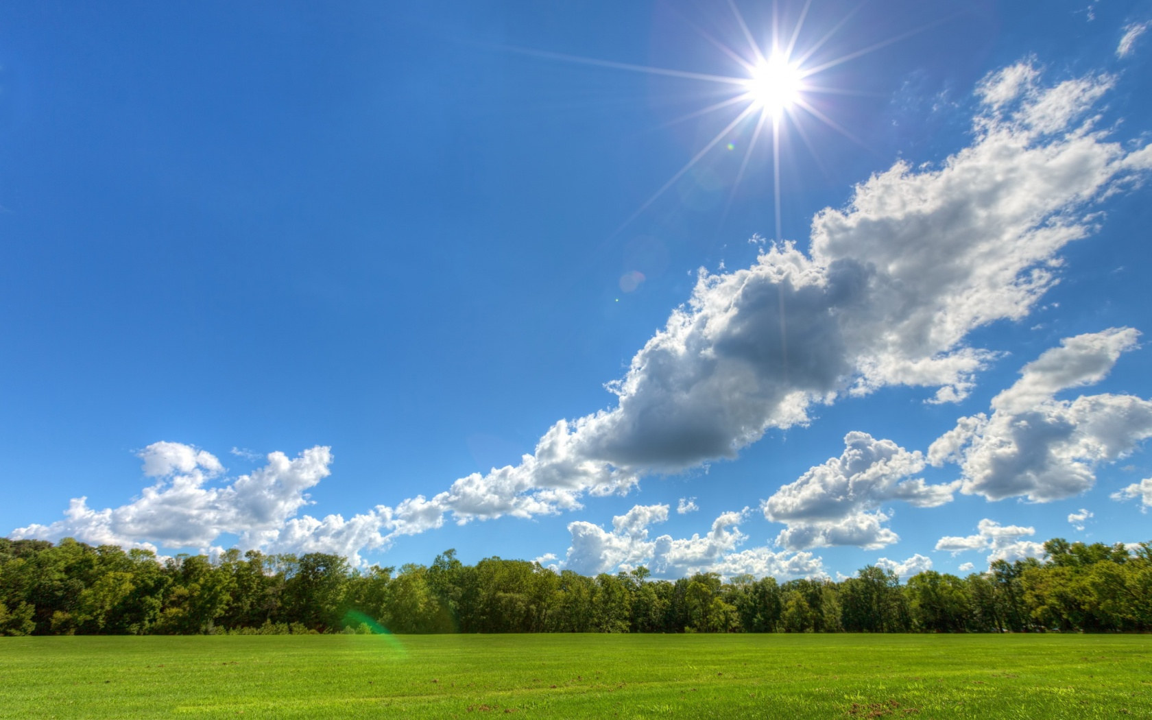 Awesome Sunny Day Wallpaper