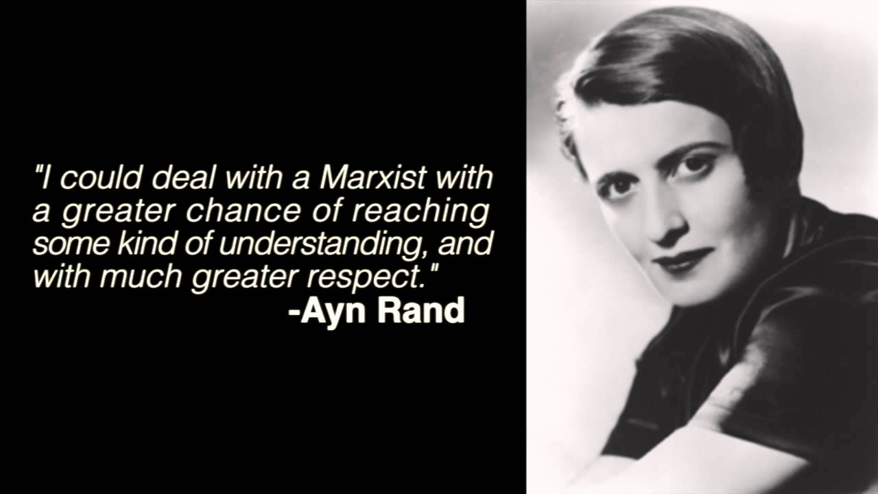 Ayn Rand DESTROYS Ron Paul & Murray Rothbard 'Libertarians'