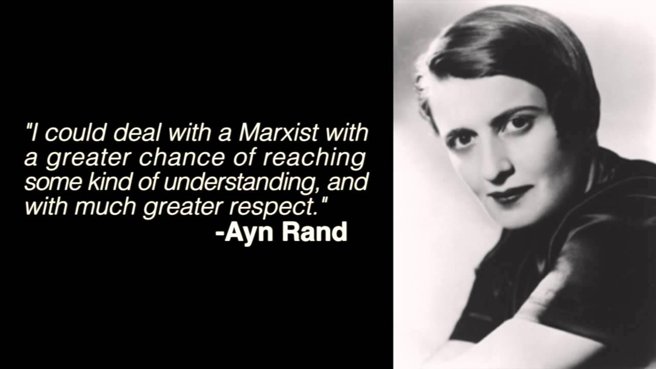 Ayn Rand DESTROYS Ron Paul & Murray Rothbard 'Libertarians'
