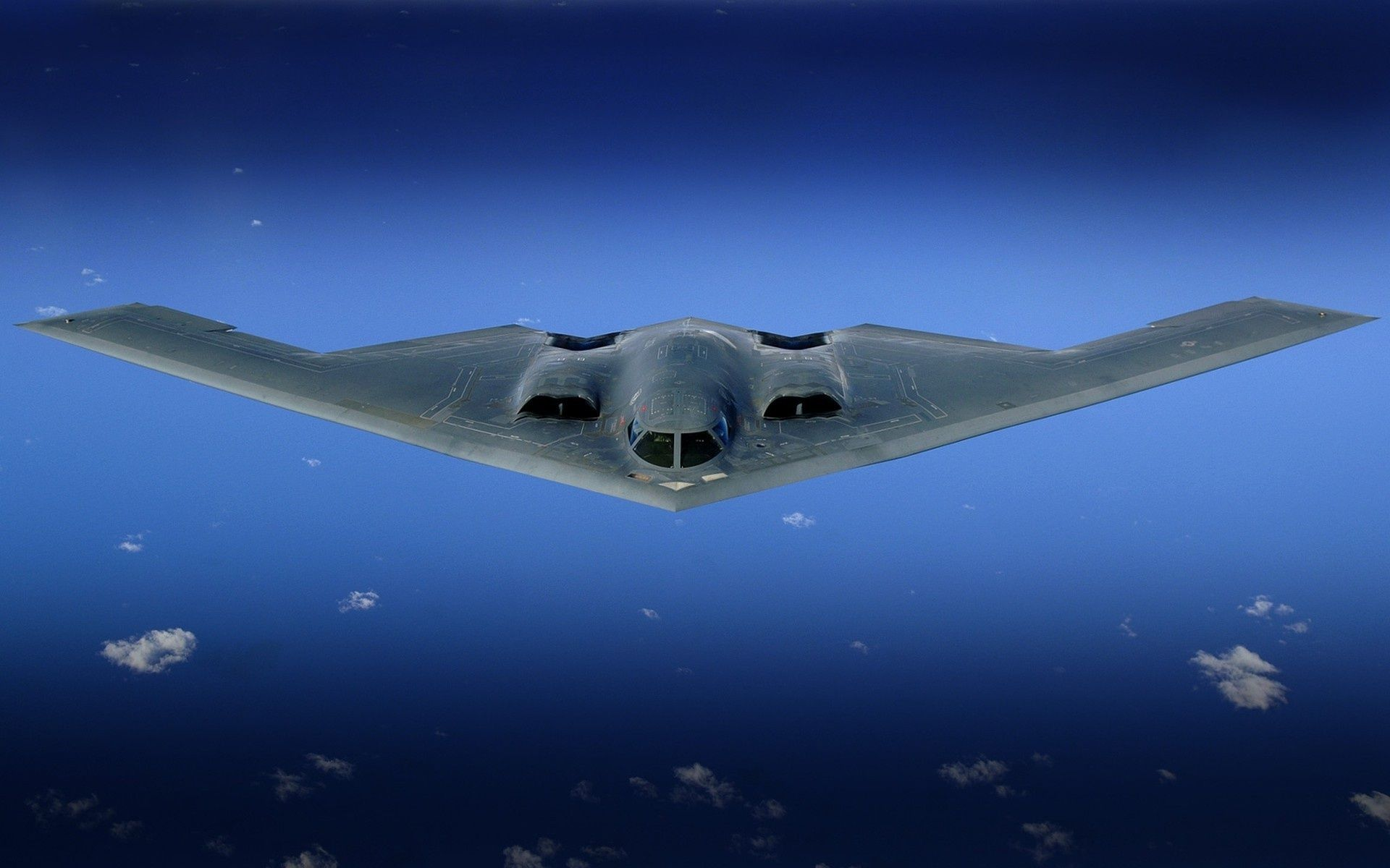 B2 Bomber in the Sky wallpaper