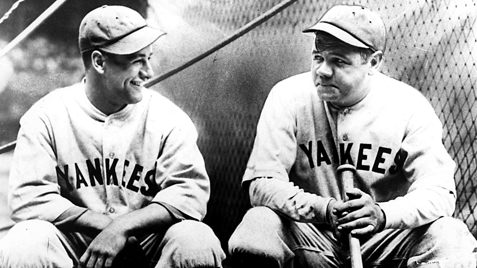 Babe Ruth & Lou Gehrig Comedy Album