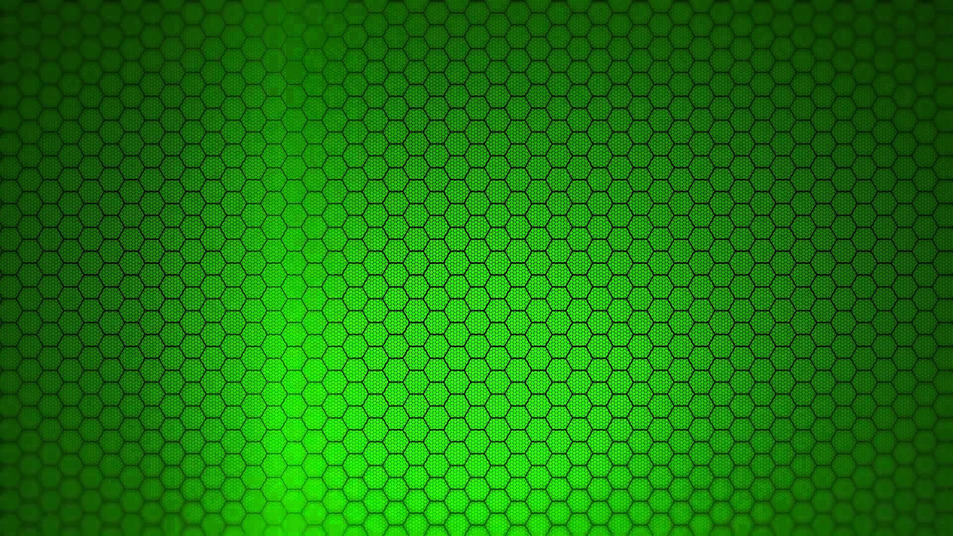 Hexagon Background - Green Screen Animation