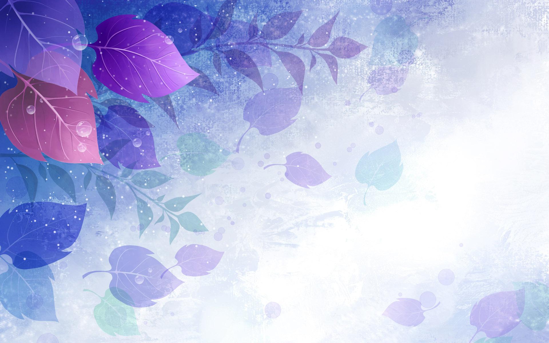 Leaves Vector Wallpaper