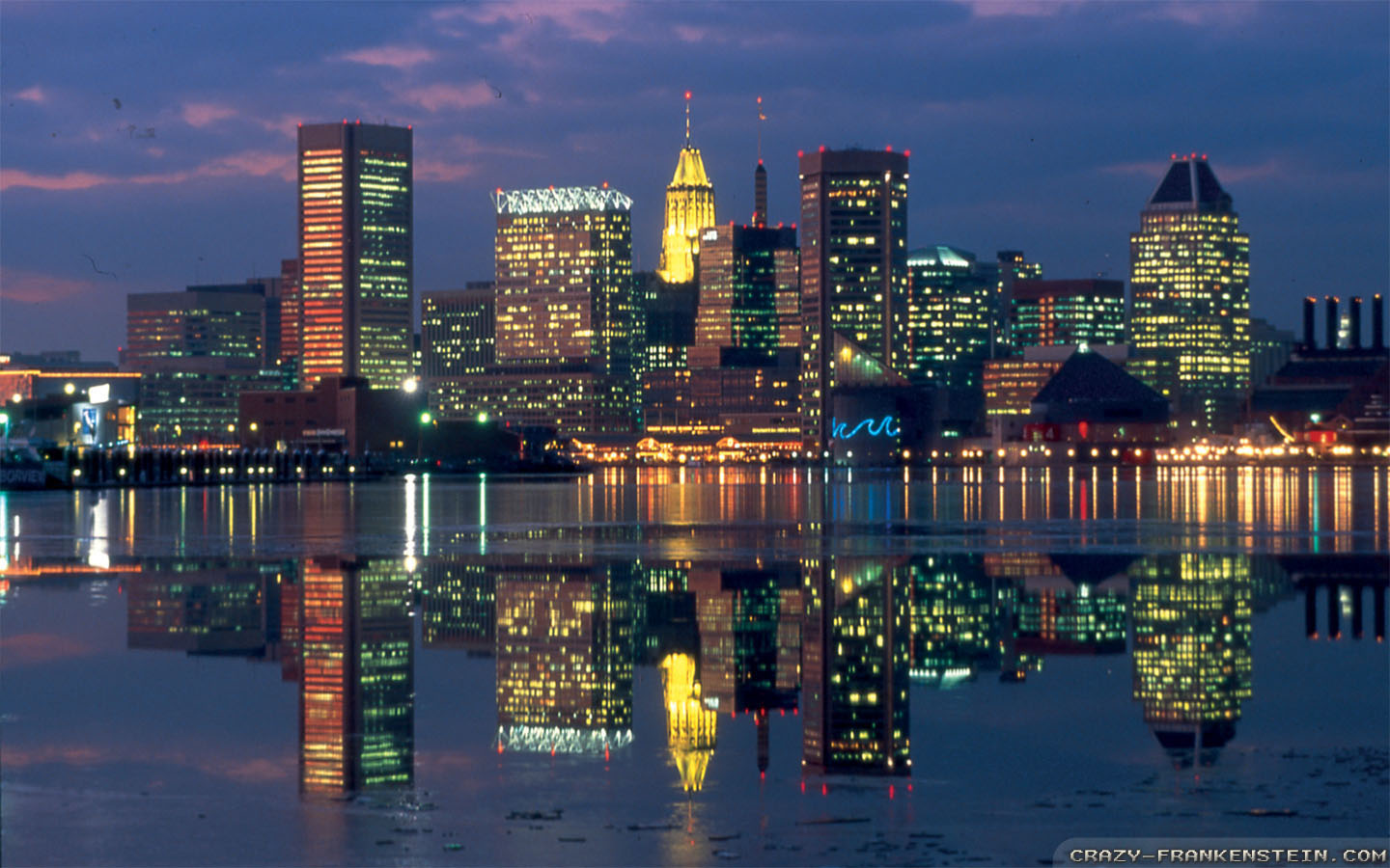 Wallpaper: Baltimore night wallpapers. Resolution: 1024x768 | 1280x1024 | 1600x1200