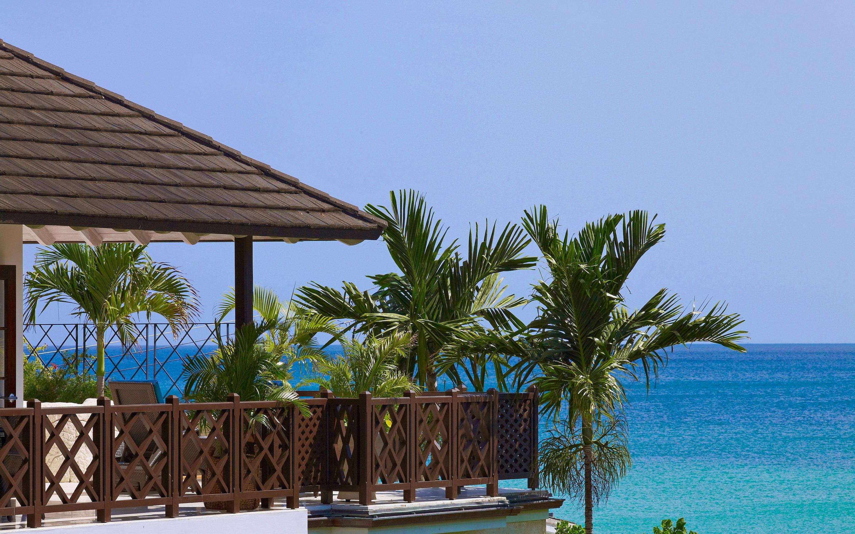 Barbados beach resort
