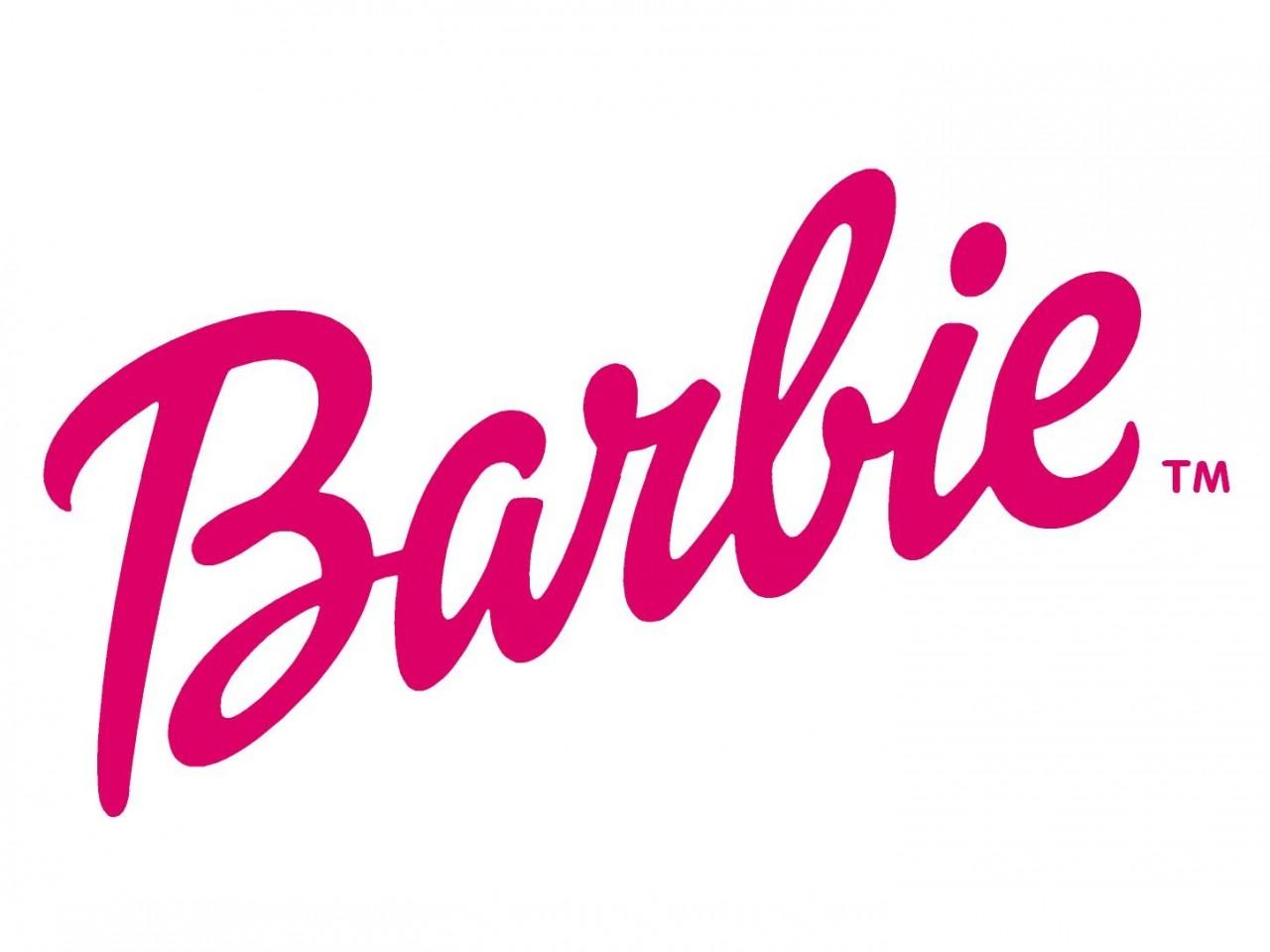 barbie head logo wallpaper Pics For Barbie Logo Wallpaper Pink