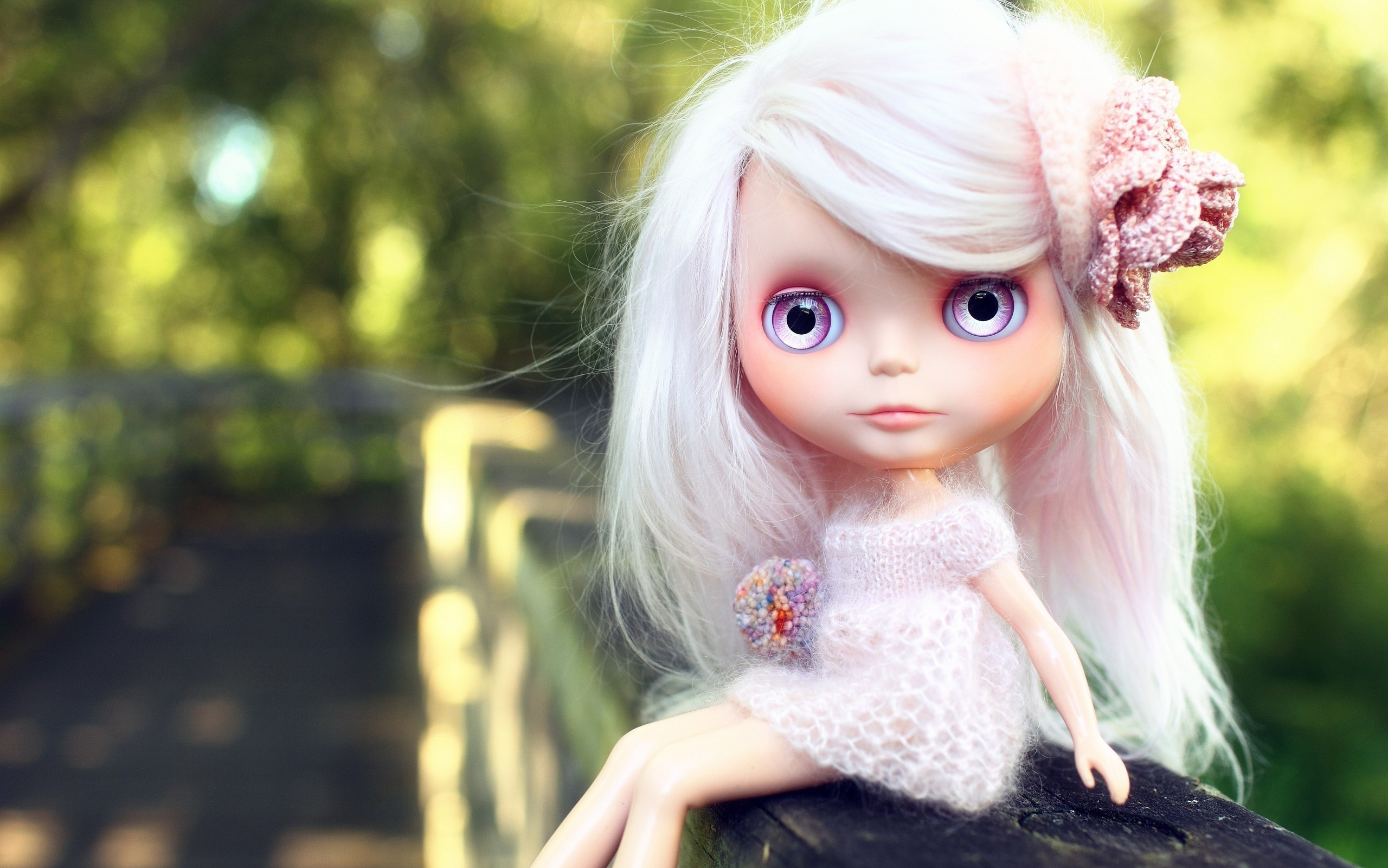 Funny Barbie Doll HD Background