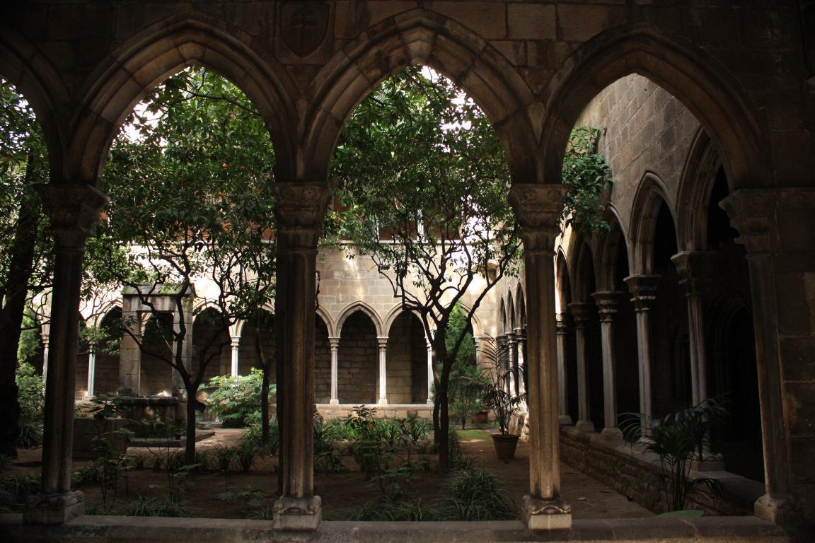 Barcelonas Gothic Quarter