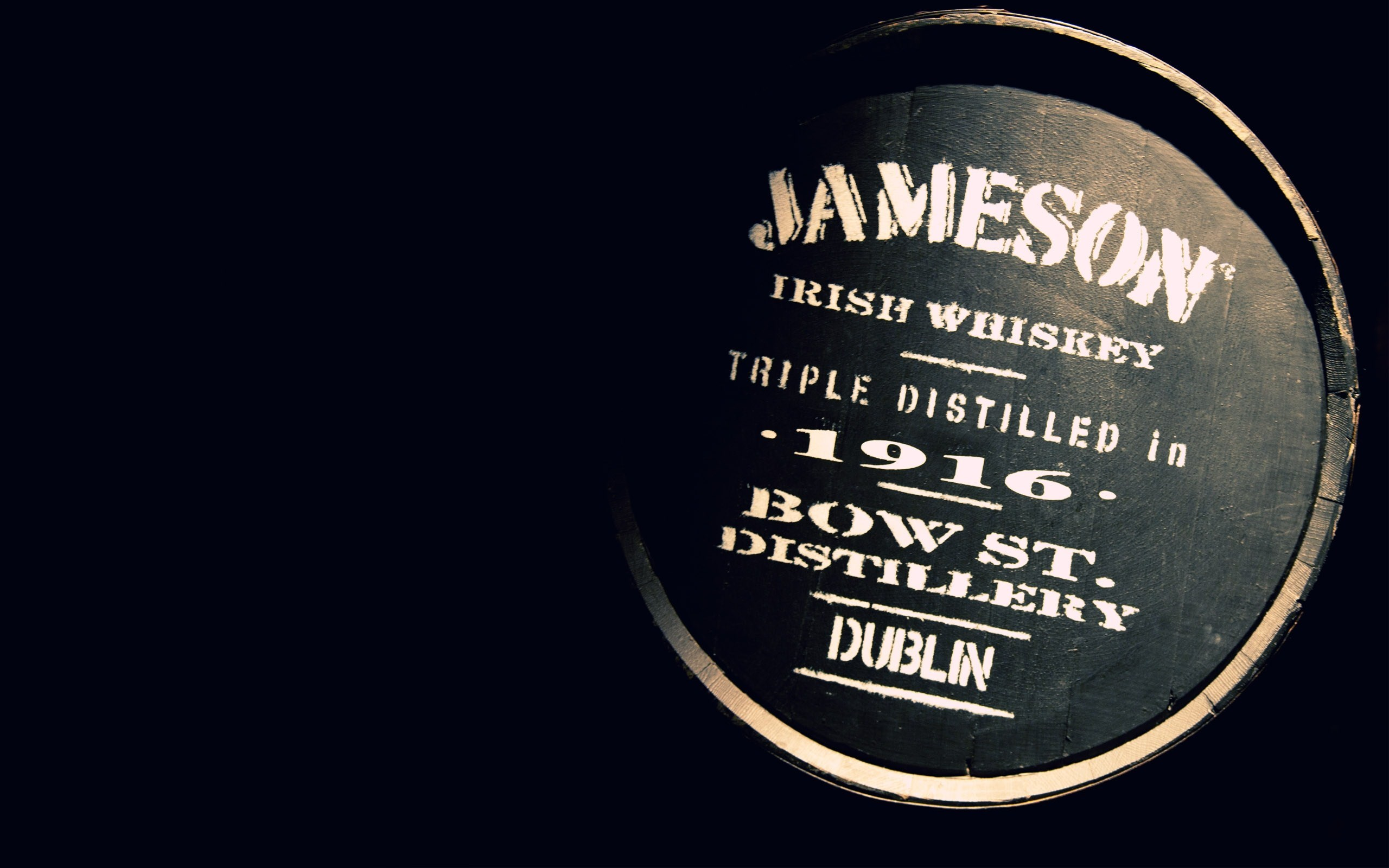 Barrel Jameson Irish Whiskey Dublin Photo
