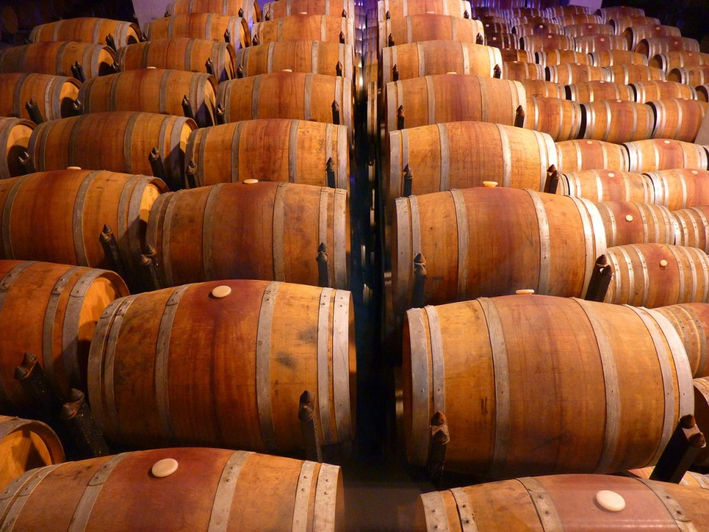 Barrels Wood Wooden Wine