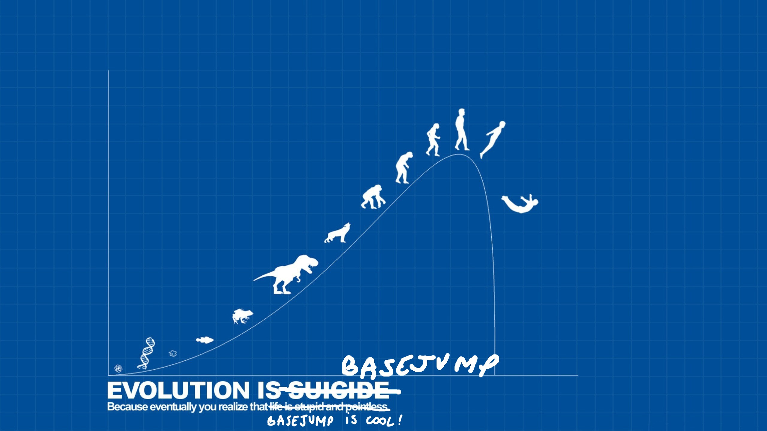 BASE Jumping evolution suicide