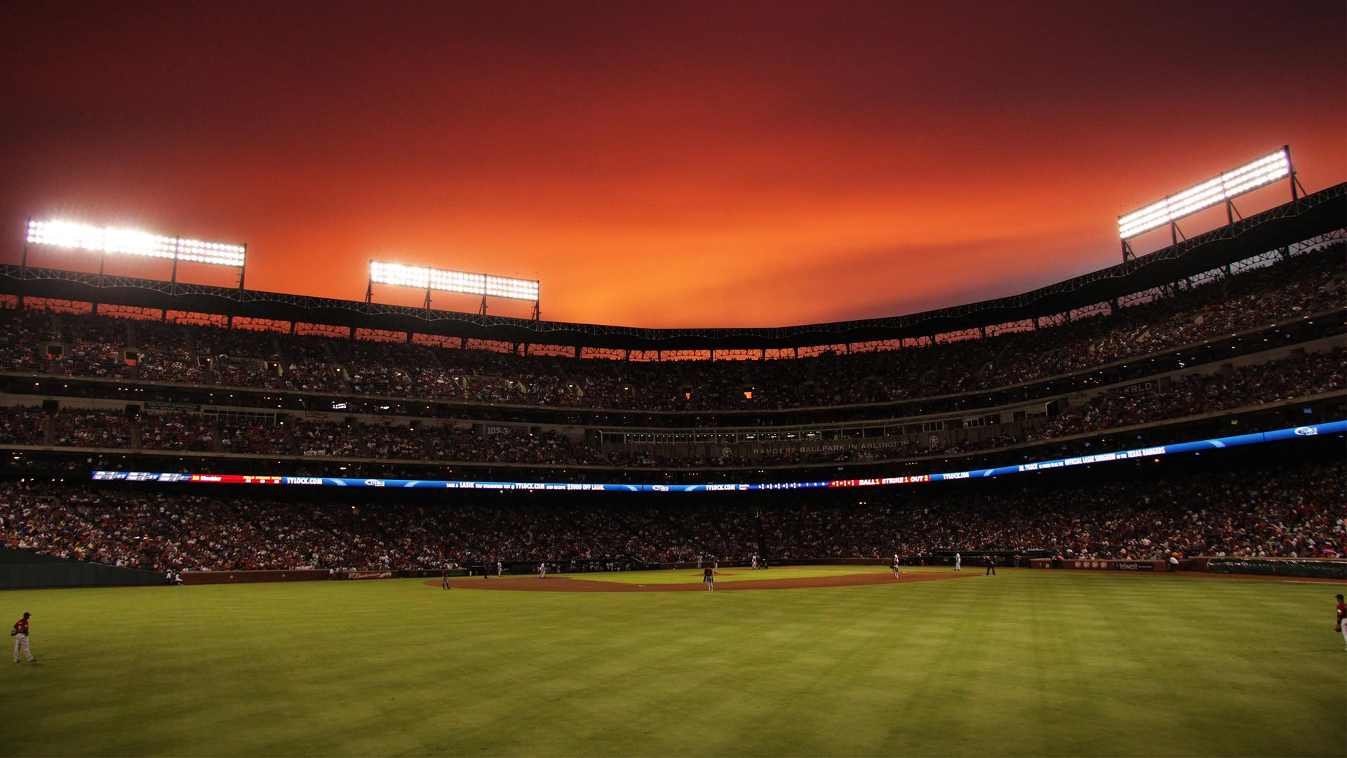 HD Baseball Field Wallpaper