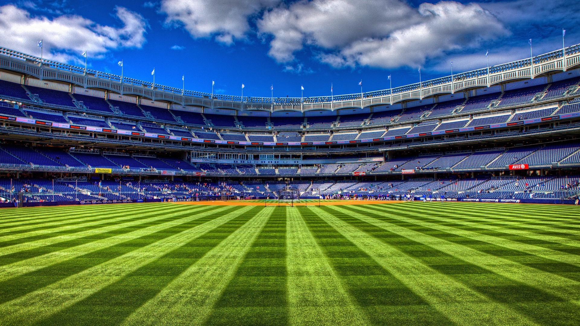 Baseball Field Wallpaper
