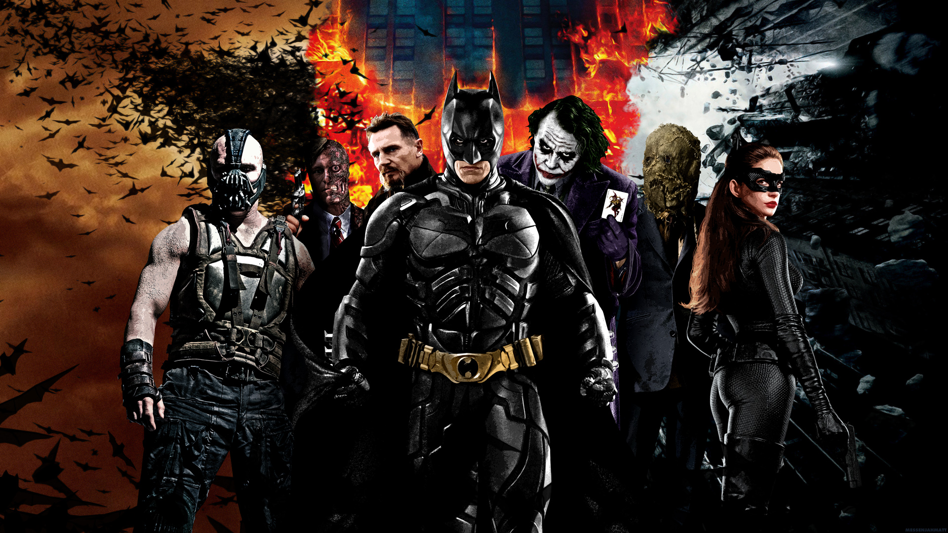 Bane Wallpaper Hd: Wallpapers for Gt Batman Vs Bane Wallpaper 1920x1080px