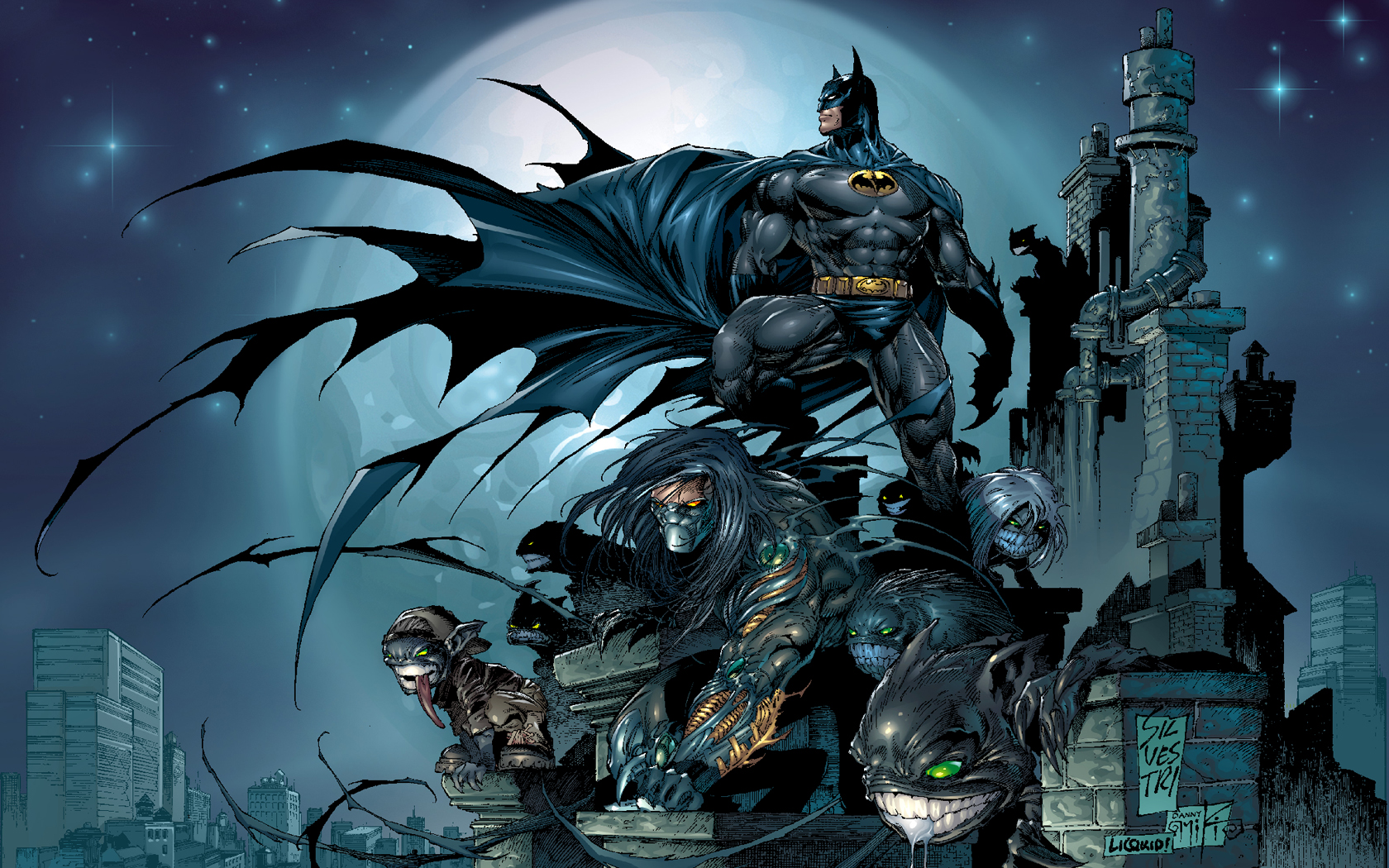 Wallpaper Batman Dc Comics 1680x1050px