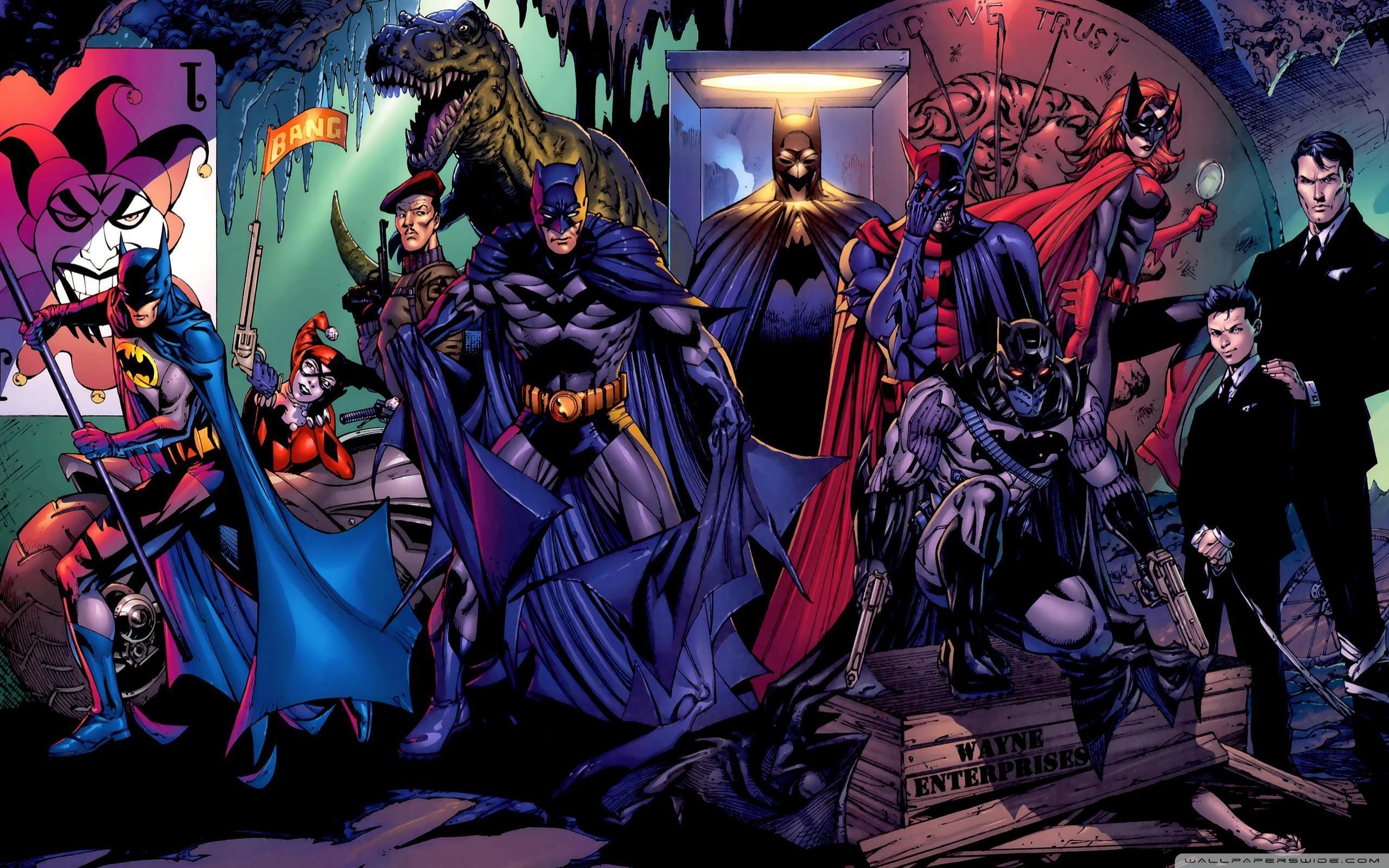 Batman Harley Quinn Wallpaper 2560x1600 9974