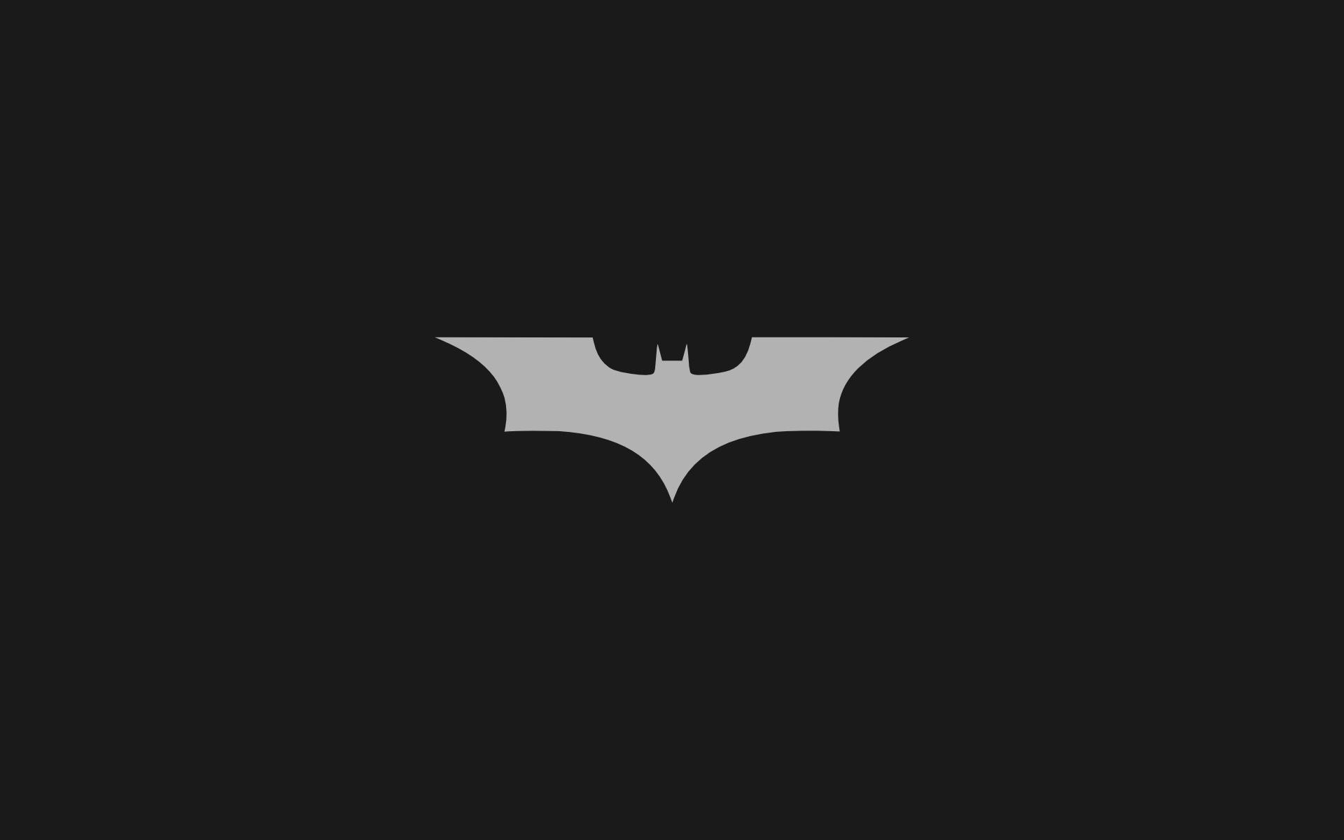 Minimalistic Batman Logo