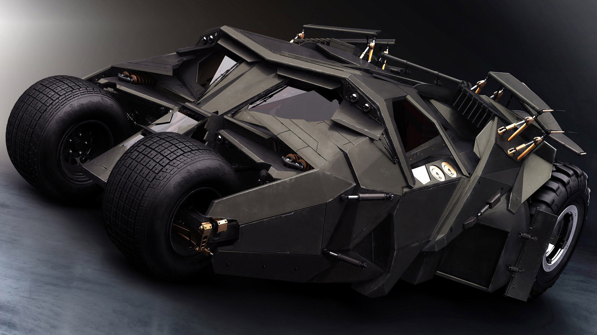 Christopher Nolan's design team took a different tack, by making the Batmobile a straight-up military vehicle. It was created by designer Neil Crowley, ...