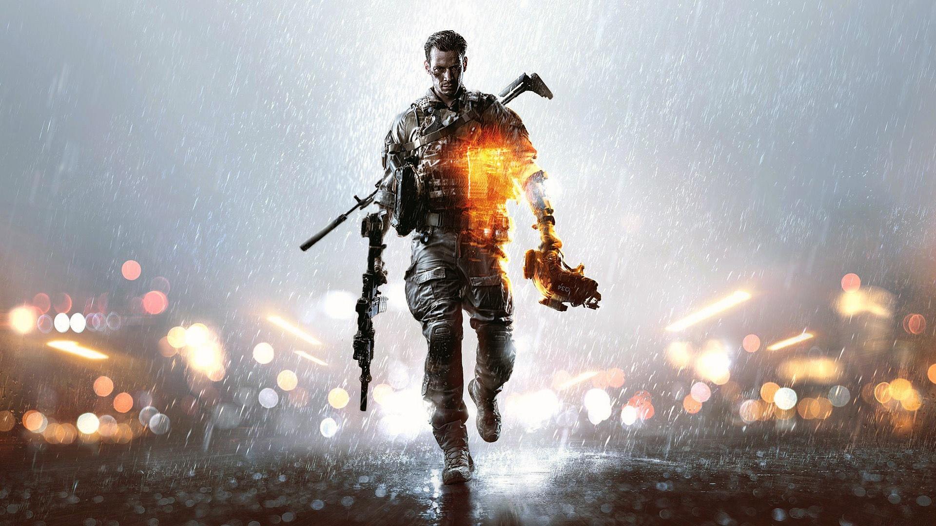Battlefield 4 Game Poster