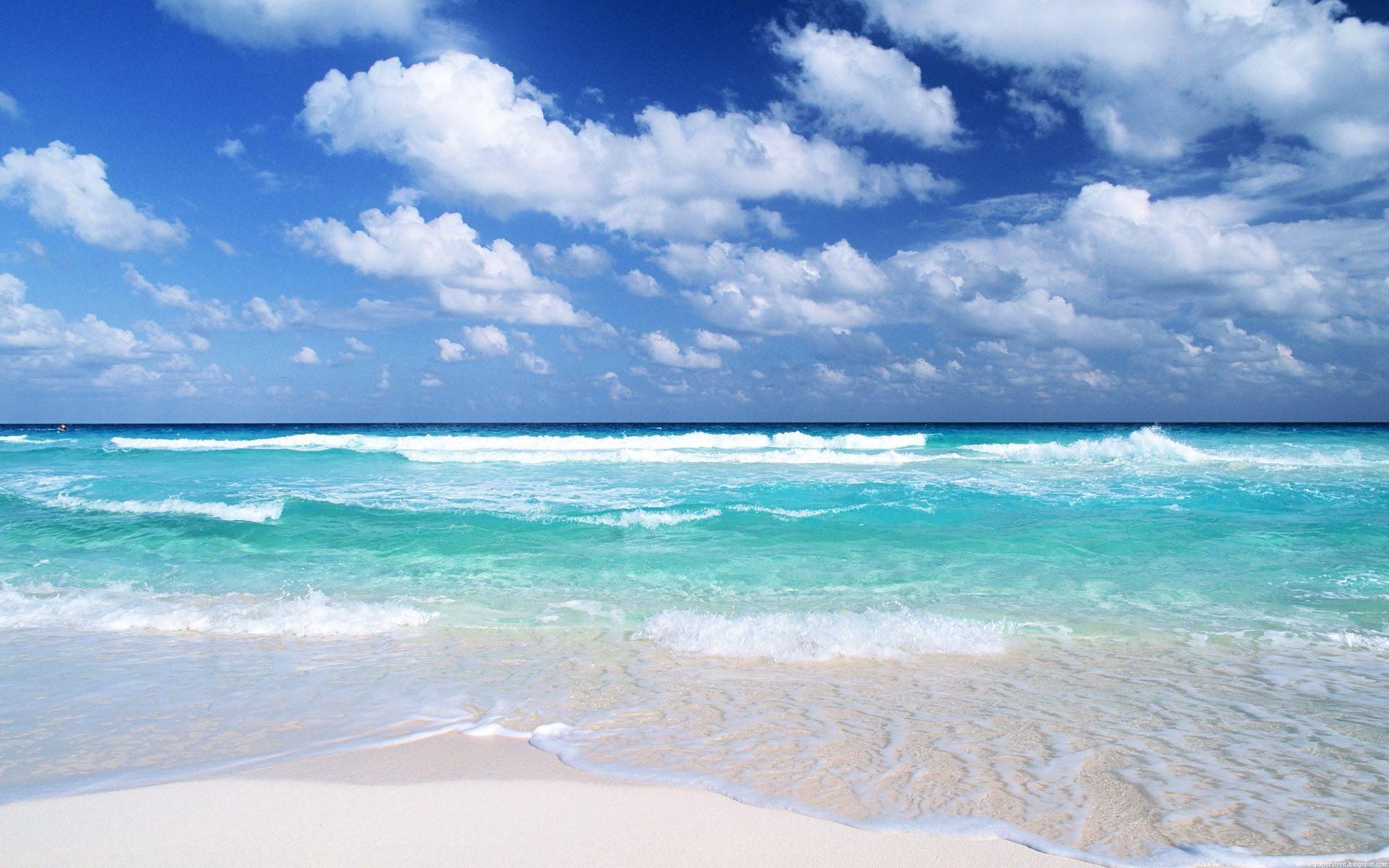 Beach Background Wallpaper