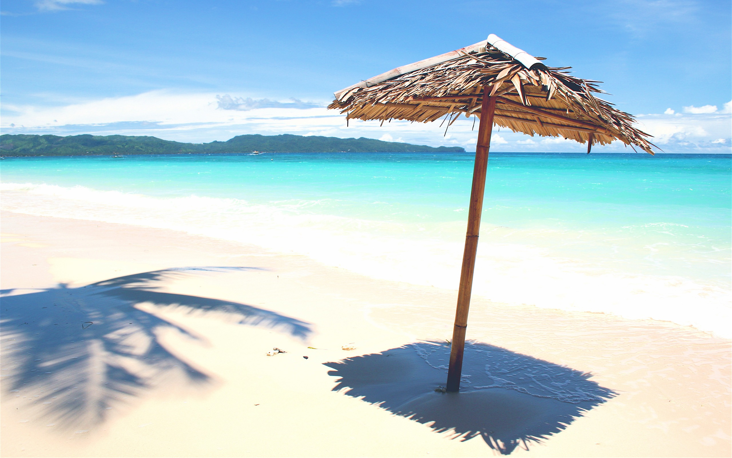 Beach Bast Sunshade Wallpapers Pictures Photos Images. «