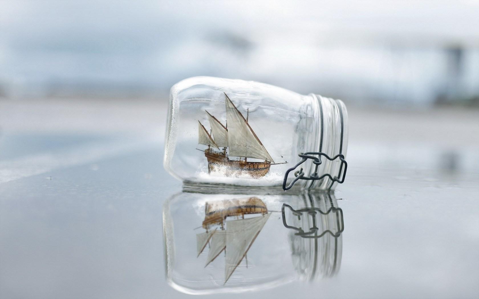 Beach Boat Close-Up