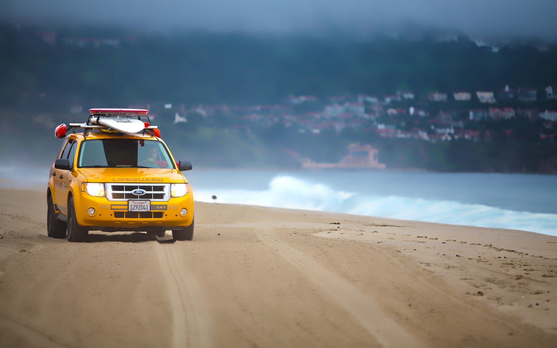 Beach Ford SUV Lifeguard