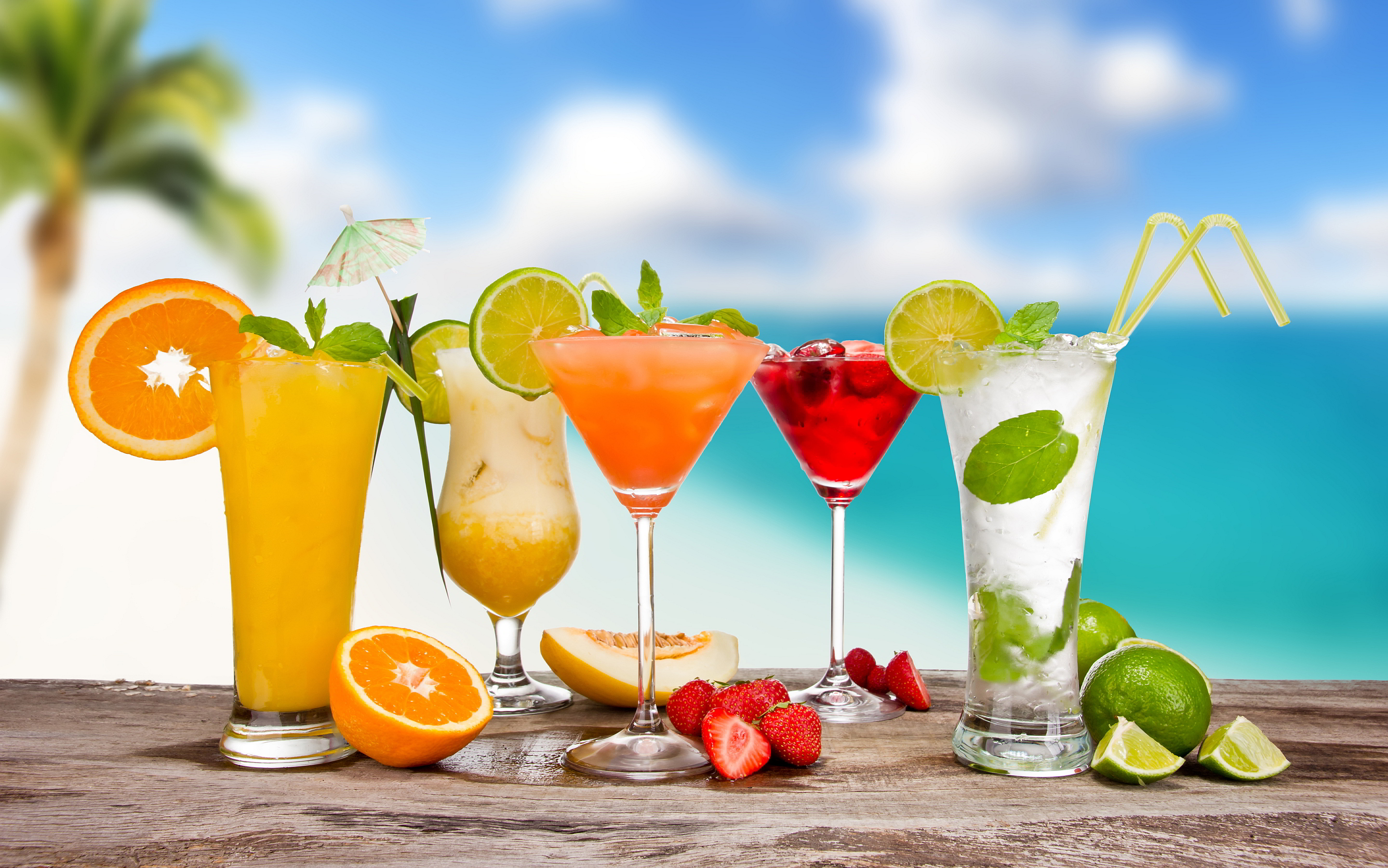 Beach party cocktail