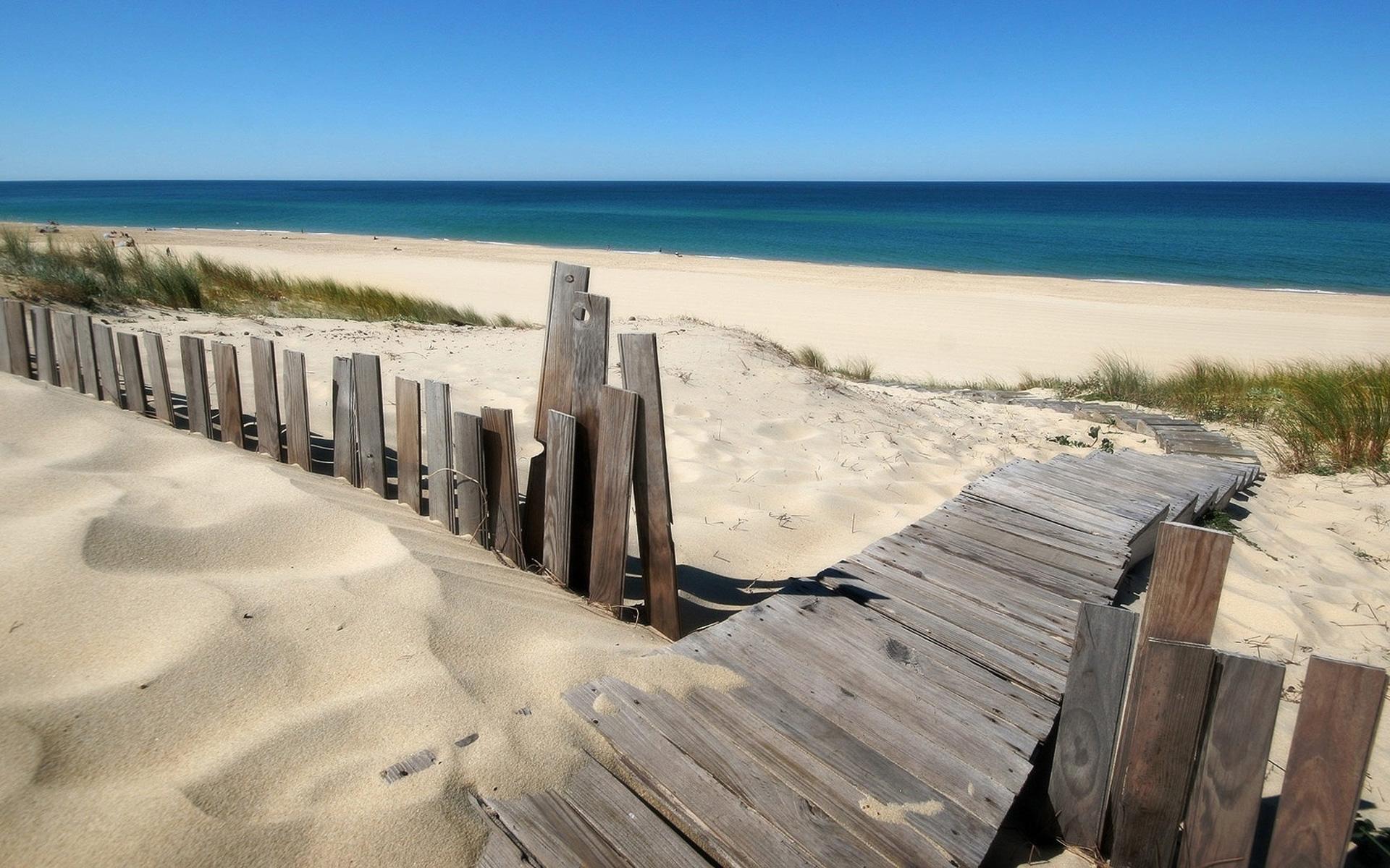 Sandy Beach Path - 1920x1200.