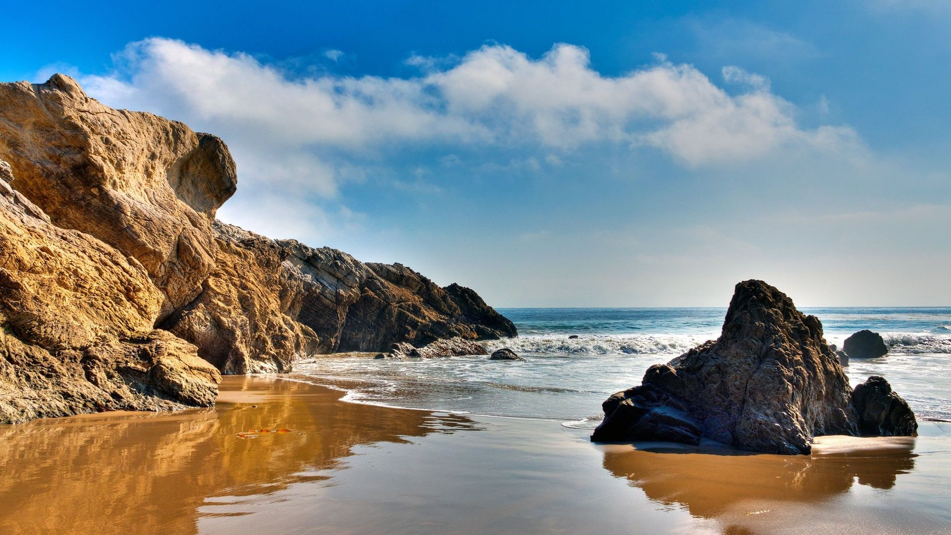 Beach Rocks Wallpaper 1920x1080 59902