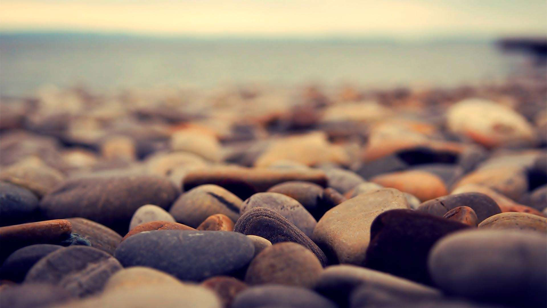 Beach Rocks Background