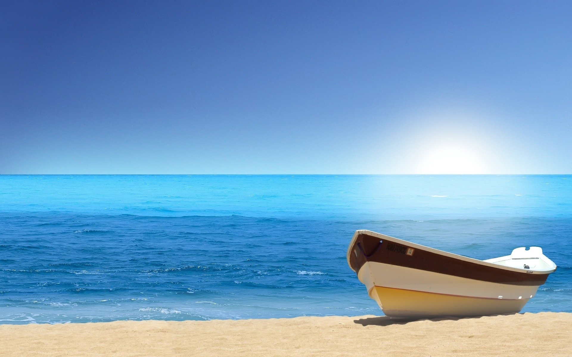 Beach Rowing Boat