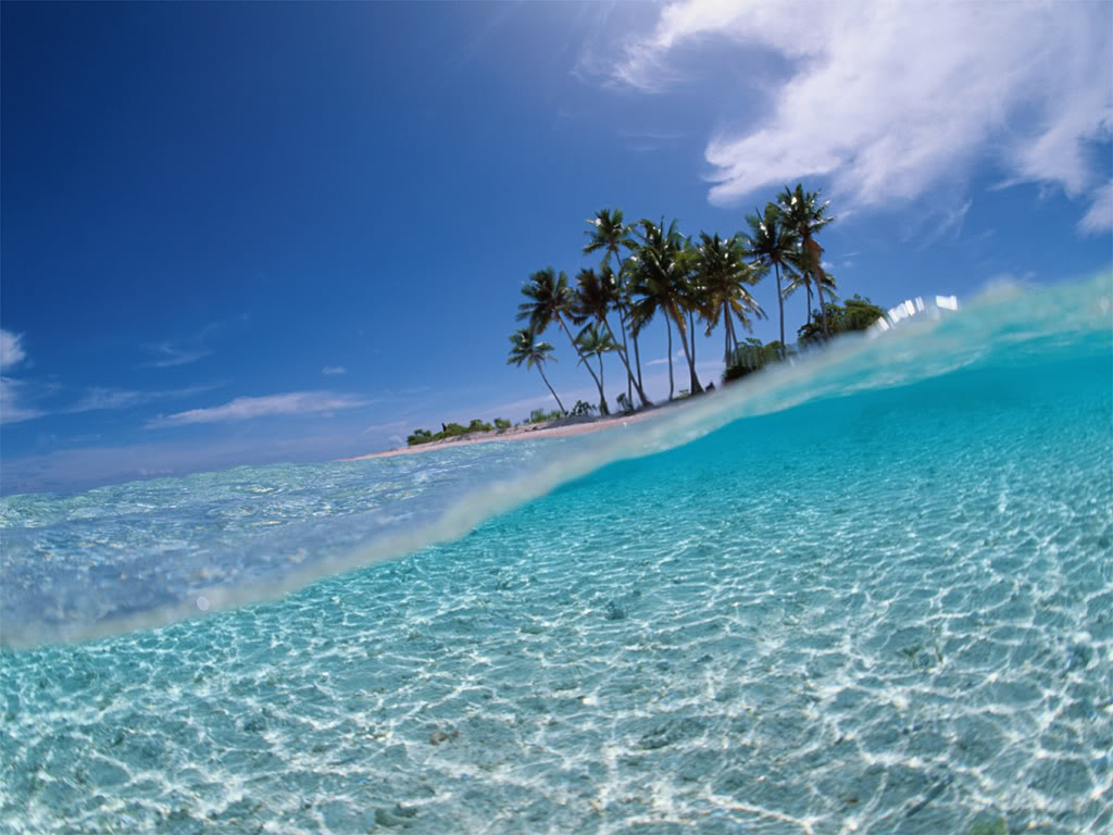 Tropical Beach Screensaver