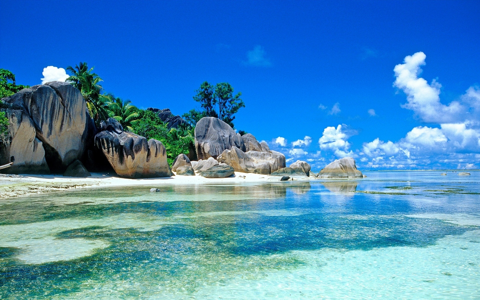 Beach-wallpapers-Seychelles Beach Pictures-wallpaper