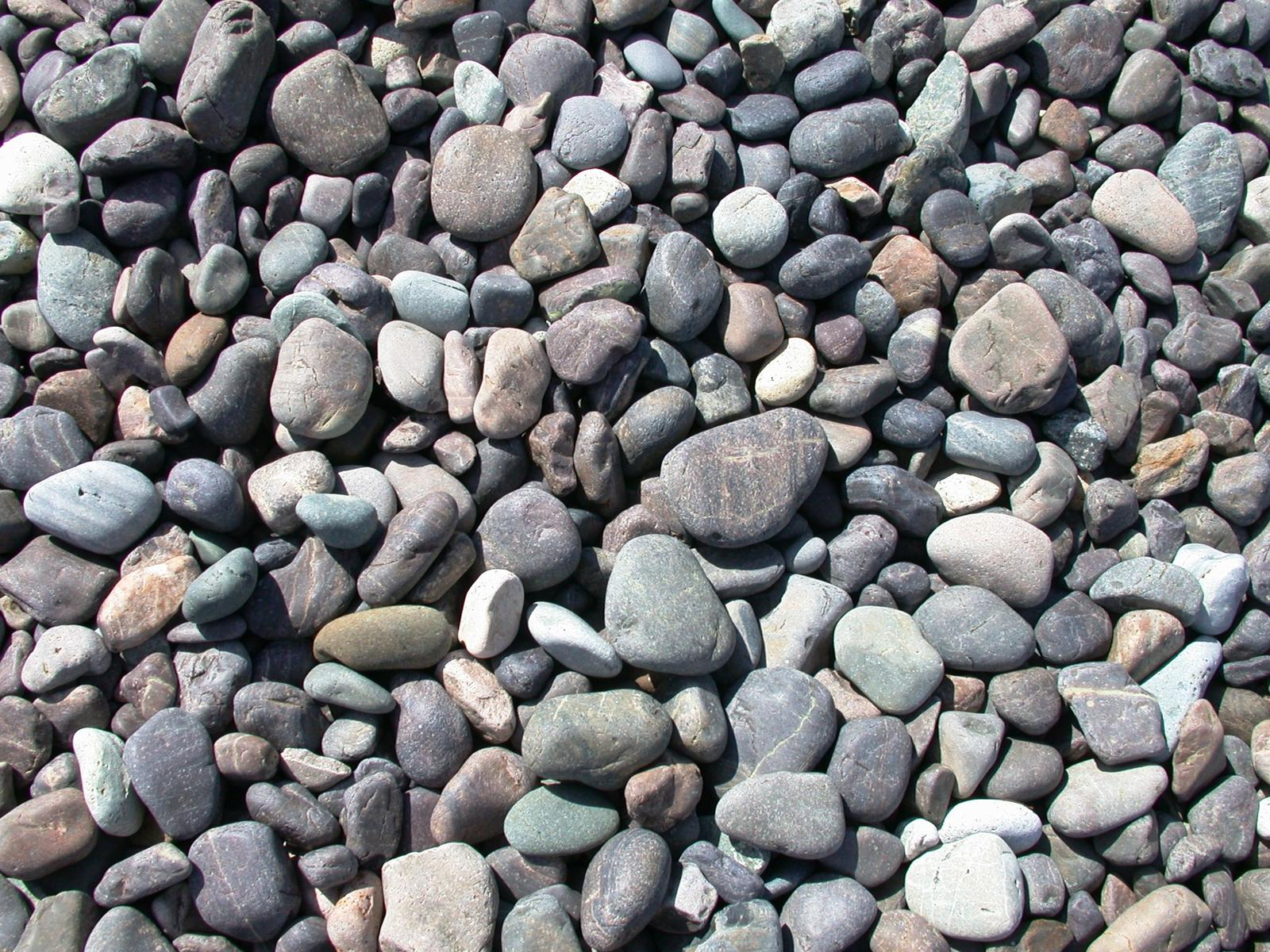 Beach Stones Wallpaper