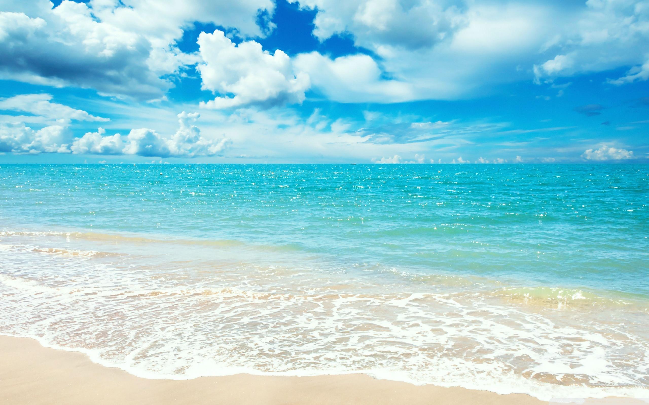 Beach HD desktop wallpaper
