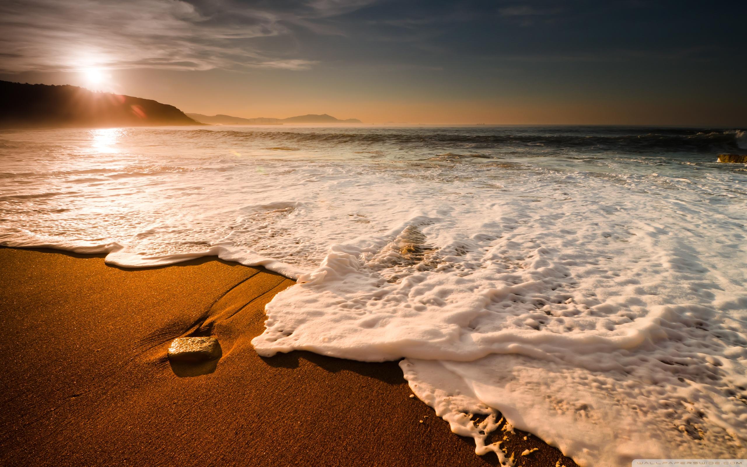 Beach Wave Wallpaper