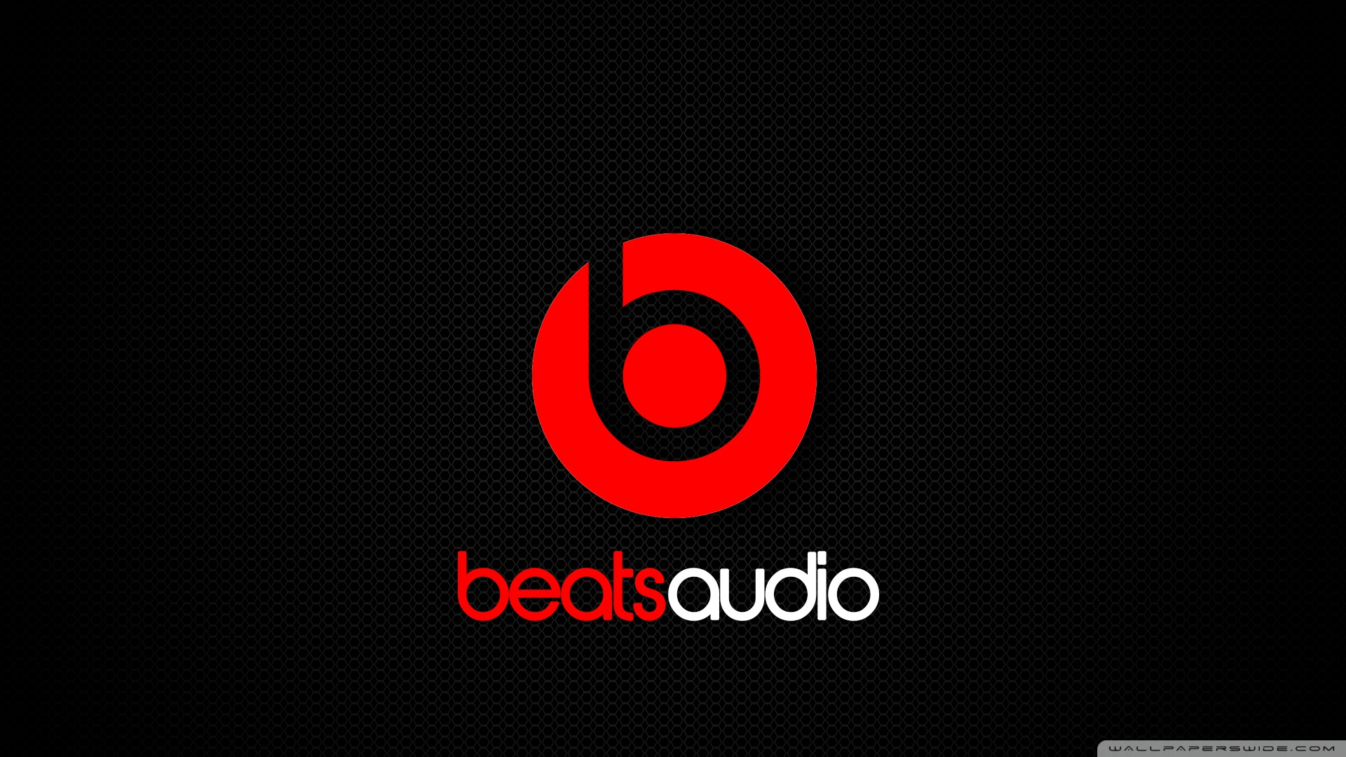 beats audio logo wallpaper