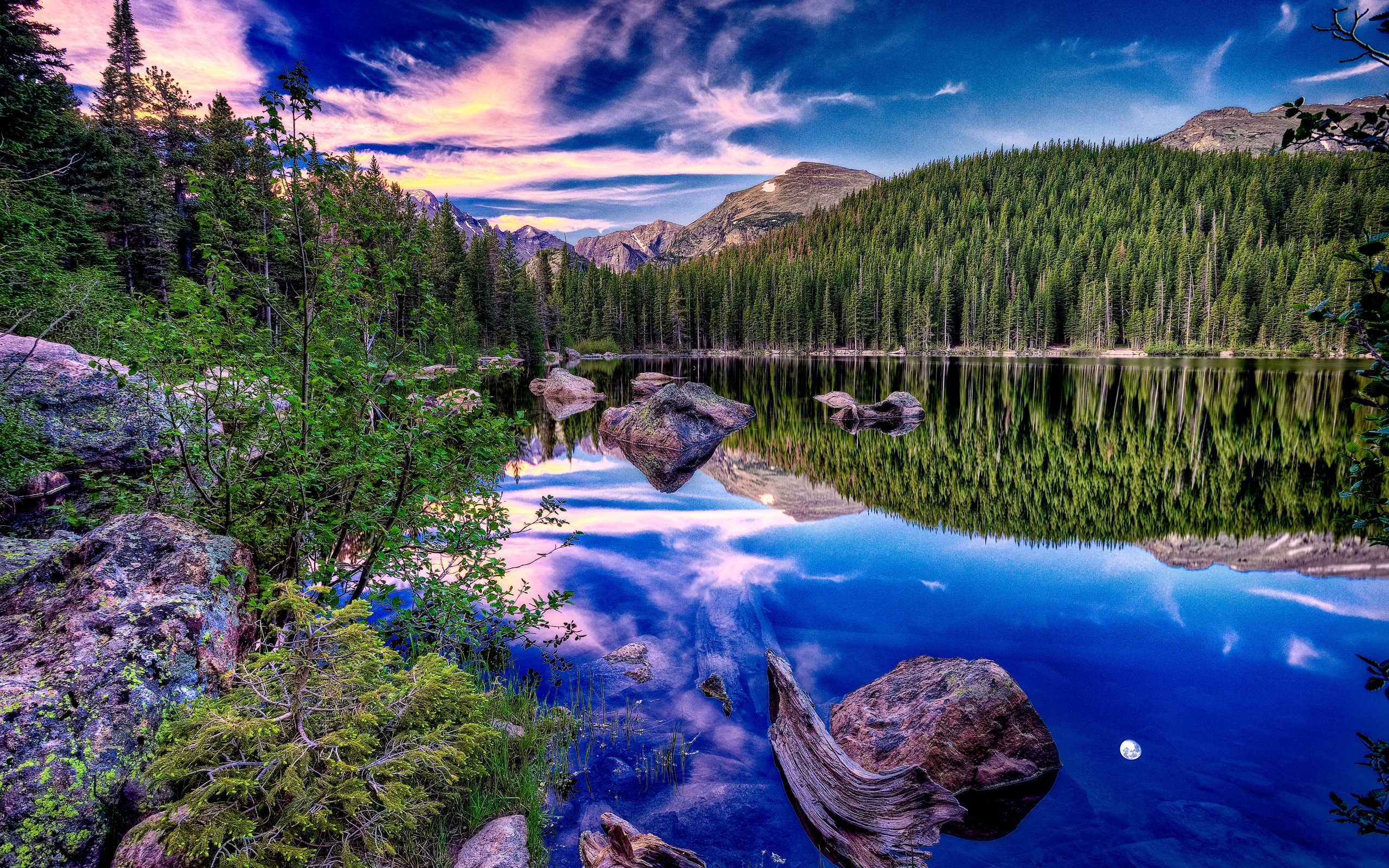 Beautiful Alpine Lake