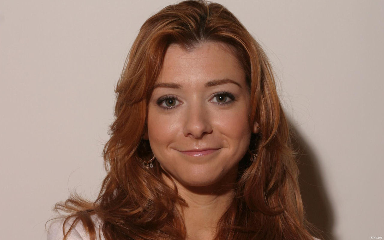 Beautiful Alyson Hannigan