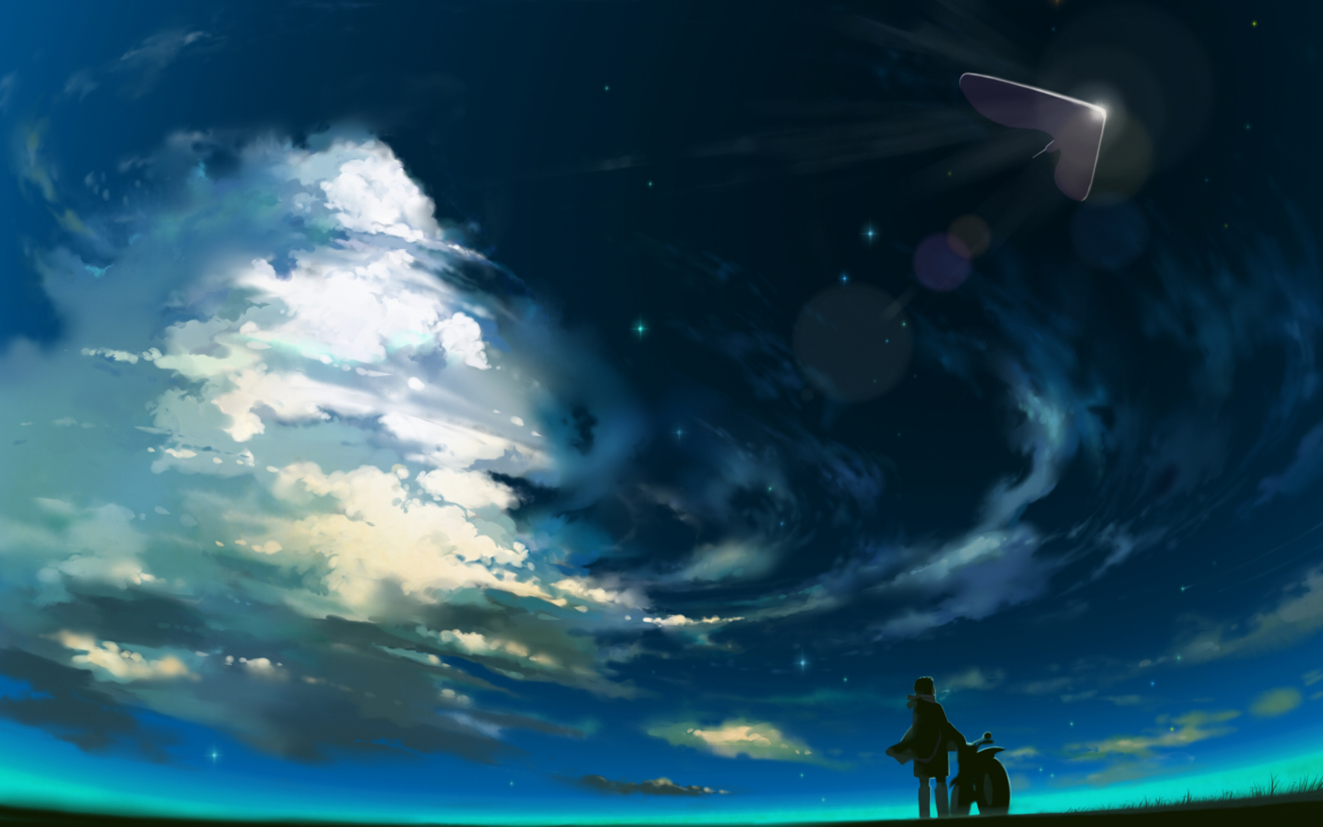 beautiful anime scenery the hippest
