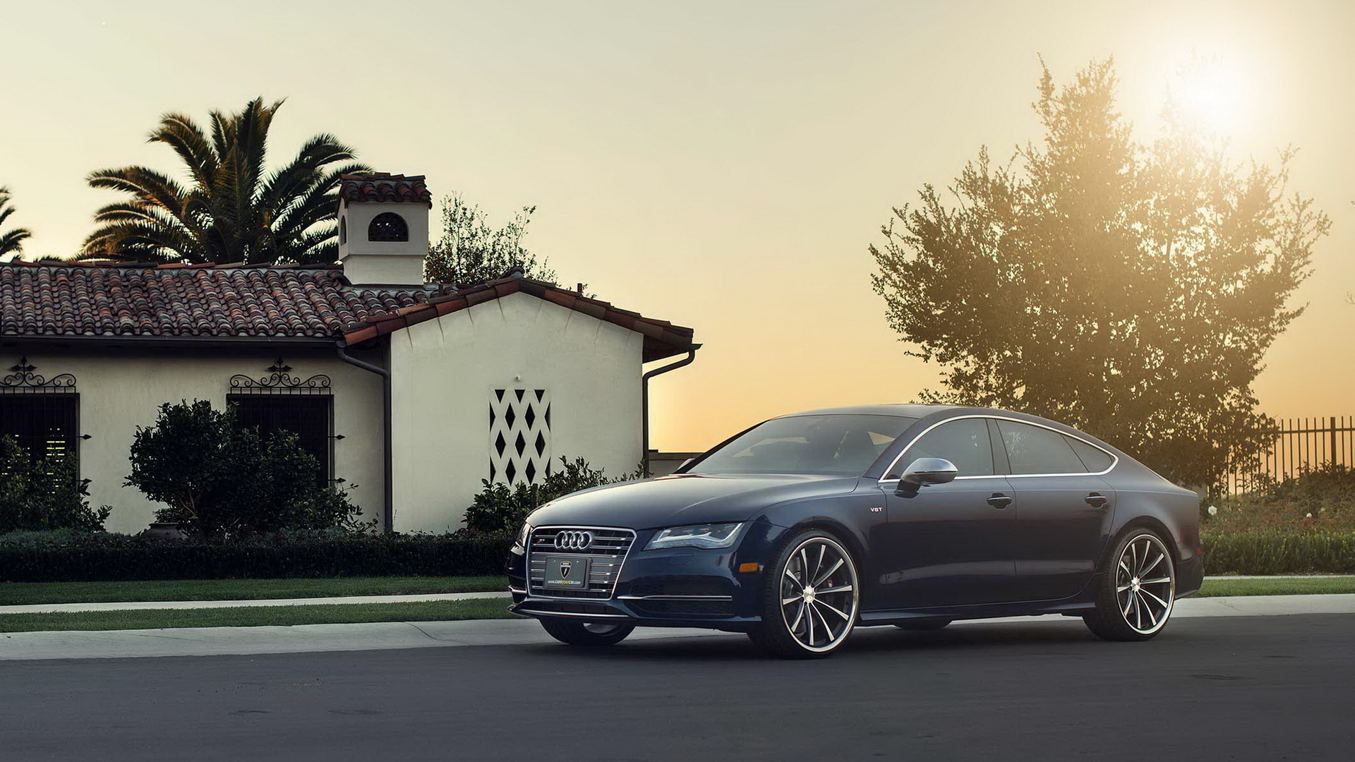 Beautiful Audi RS7 Wallpaper