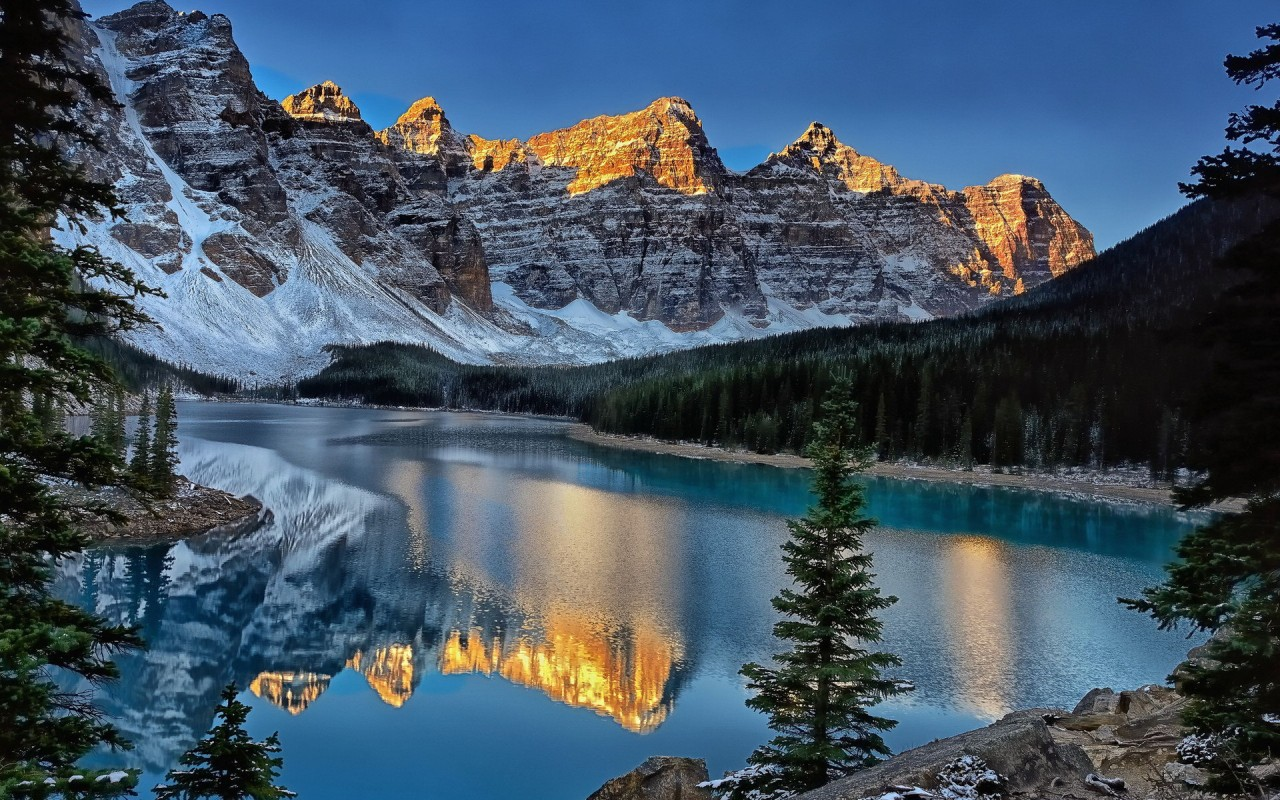 Beautiful Banff Wallpaper
