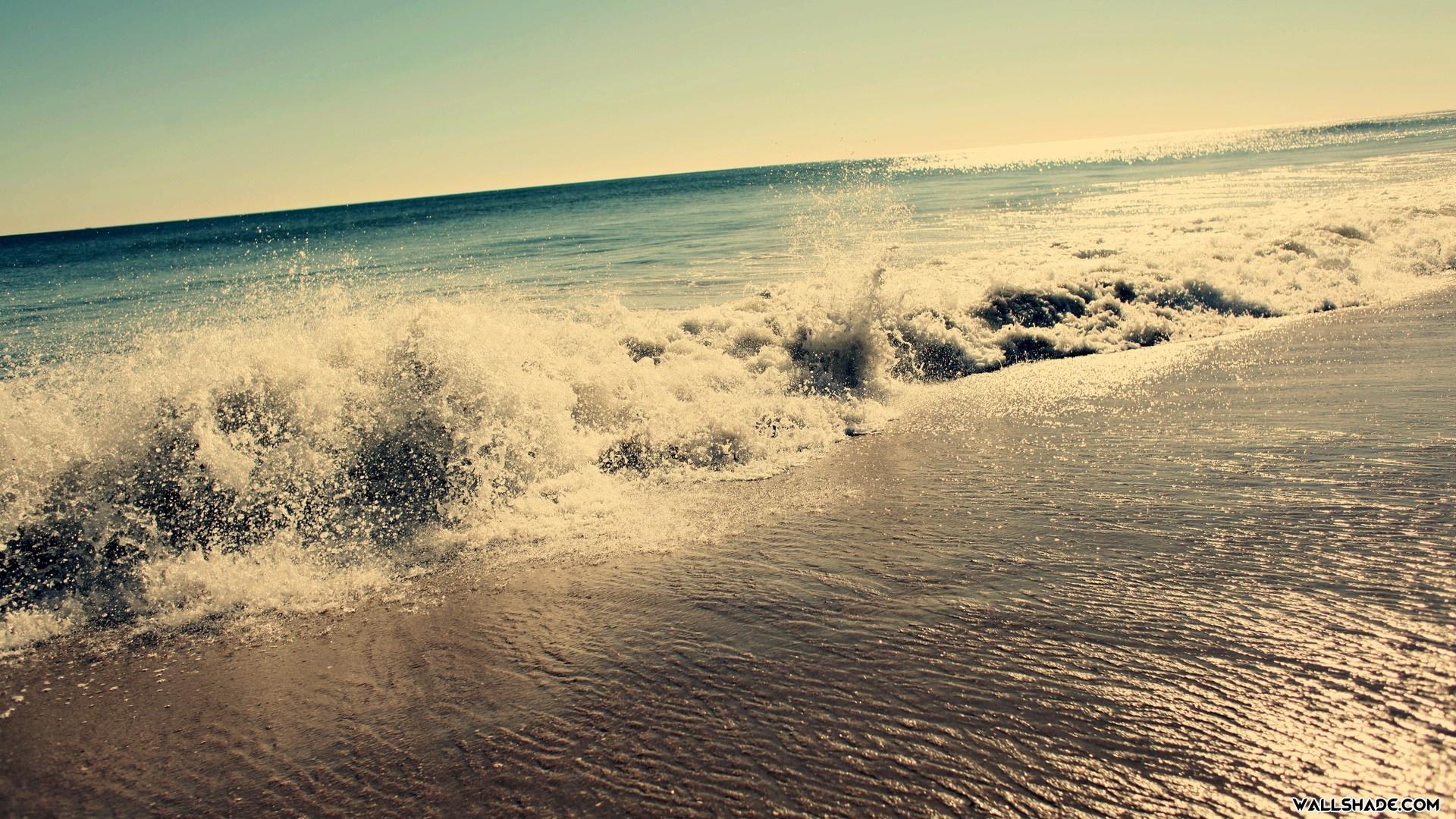 Beautiful Beach Wave Wallpaper