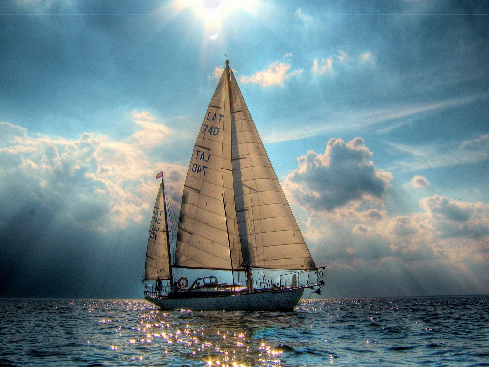 Sailing Oceans Nature Background Wallpapers on Desktop Nexus