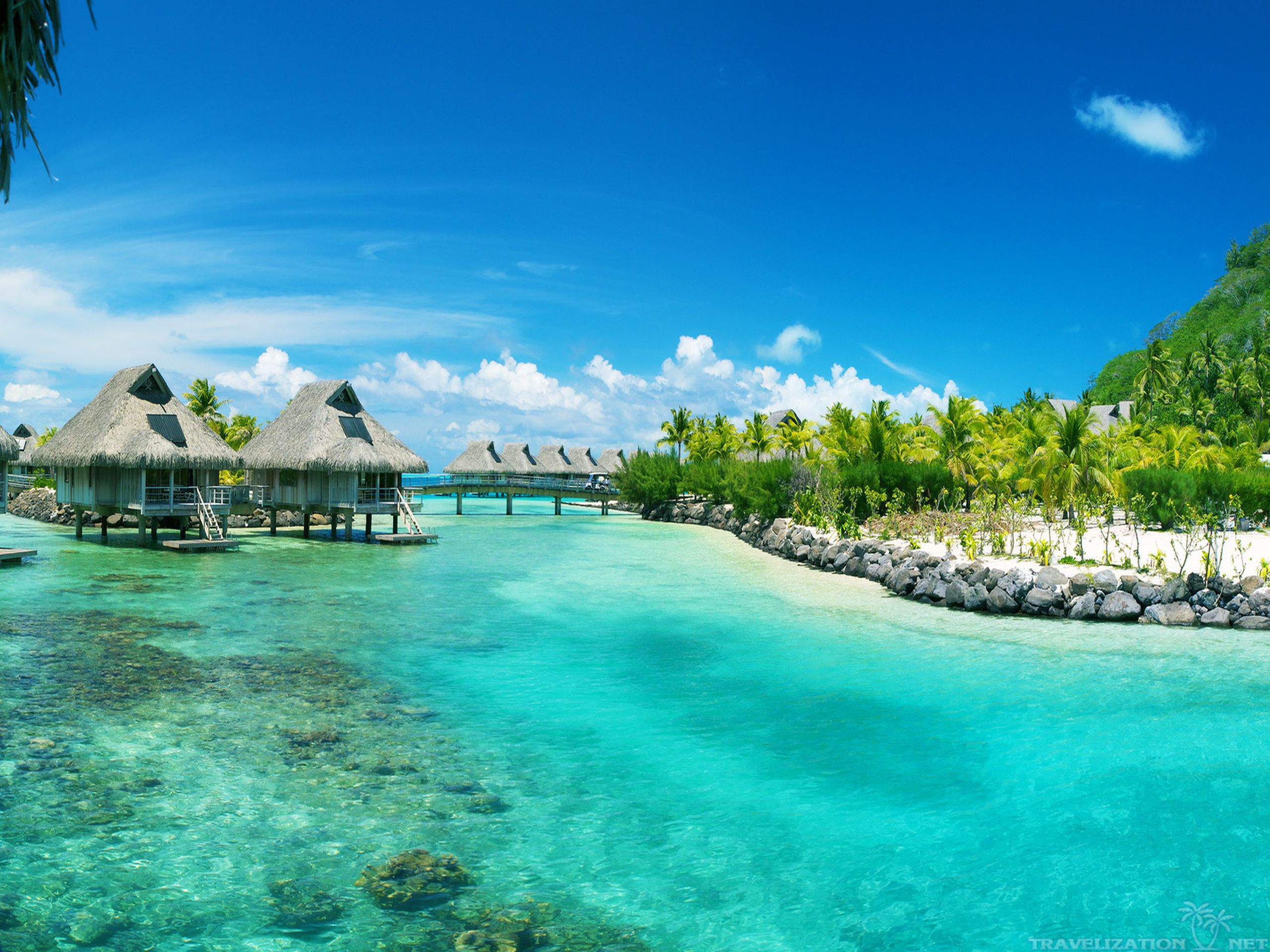 Beautiful Bora Bora Wallpaper